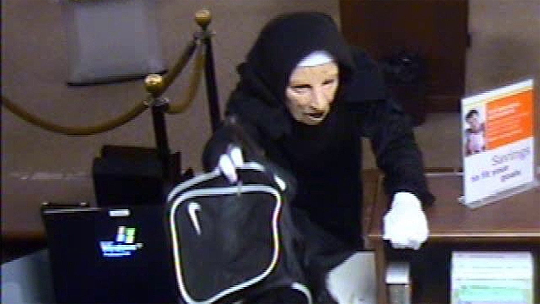 May 29: Two people in nun masks robbed a TCF bank in Palos Heights, outside Chicago.