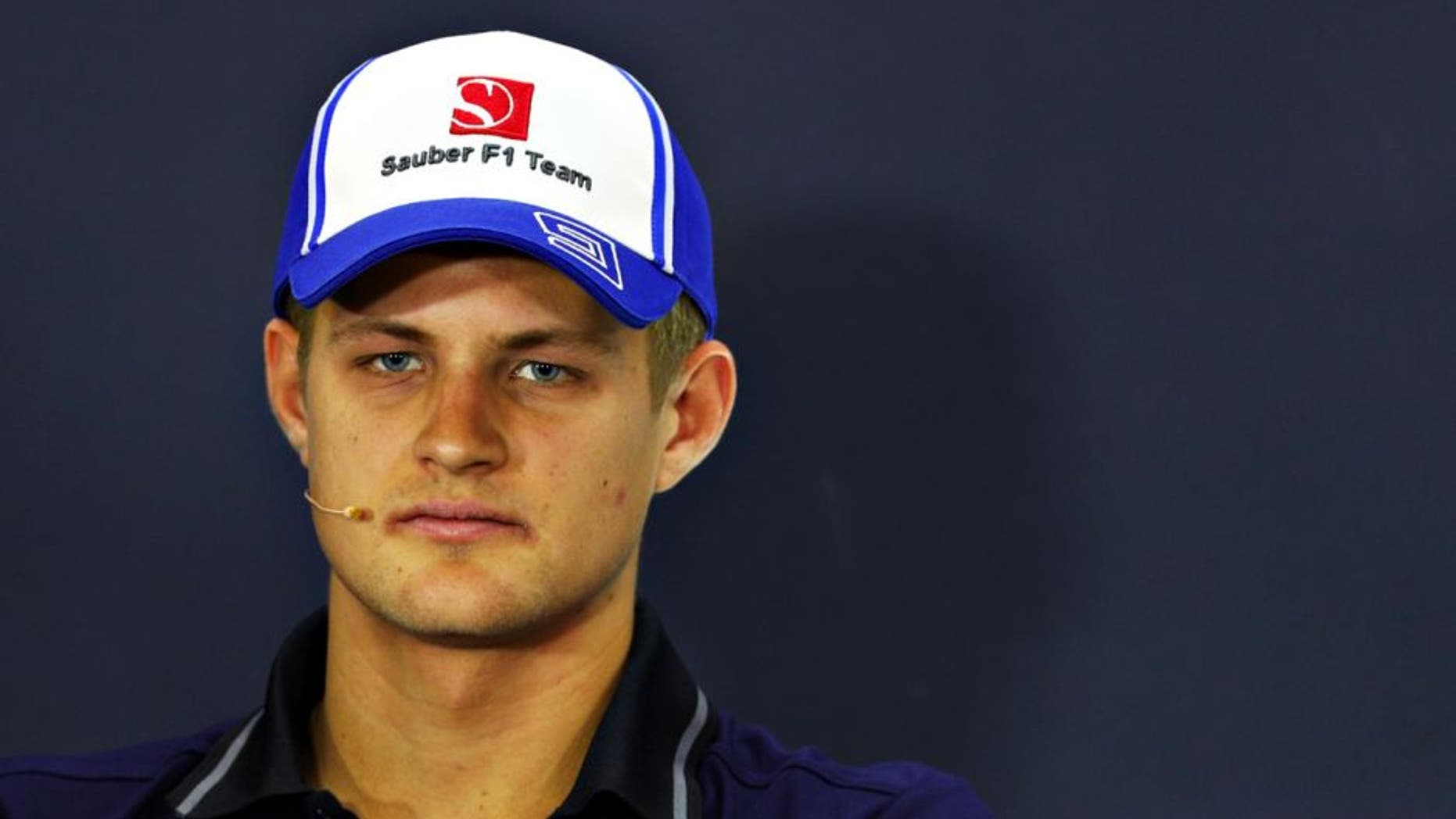 SHANGHAI, CHINA - APRIL 14: Marcus Ericsson of Sweden and Sauber F1 in the Drivers Press Conference during previews to the Formula One Grand Prix of China at Shanghai International Circuit on April 14, 2016 in Shanghai, China. (Photo by Clive Mason/Getty Images)