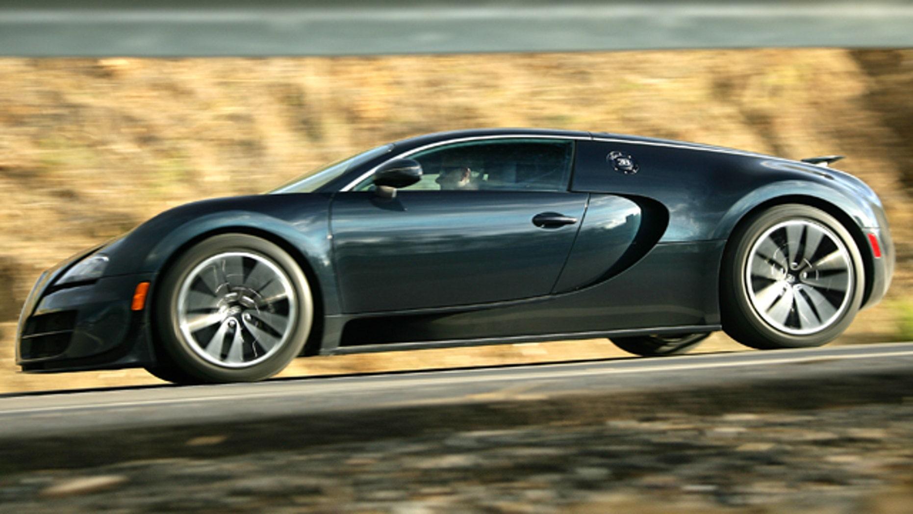 2011 bugatti veyron super sport | fox news
