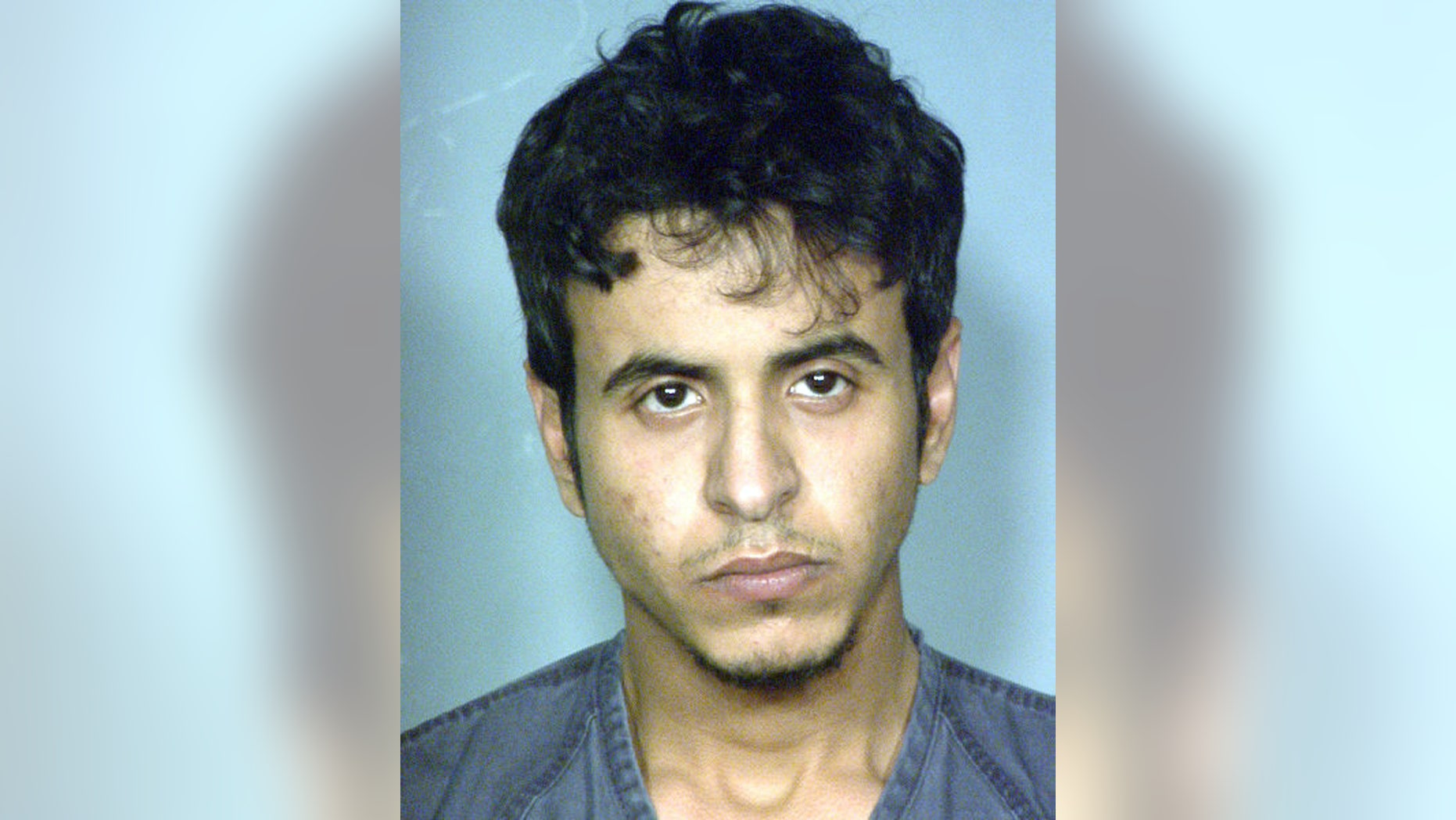 FILE - This file image provided by the Las Vegas Metropolitan Police Department shows Mazen Alotaibi. Alotaibi, 23, a sergeant in Saudi Arabia's air force, pleaded not guilty Wednesday Feb. 13, 2013, in a Nevada state court to abducting and raping a 13-year-old boy at a Las Vegas Strip hotel on New Year's Eve. (AP Photo/Las Vegas Metropolitan Police Department, File)