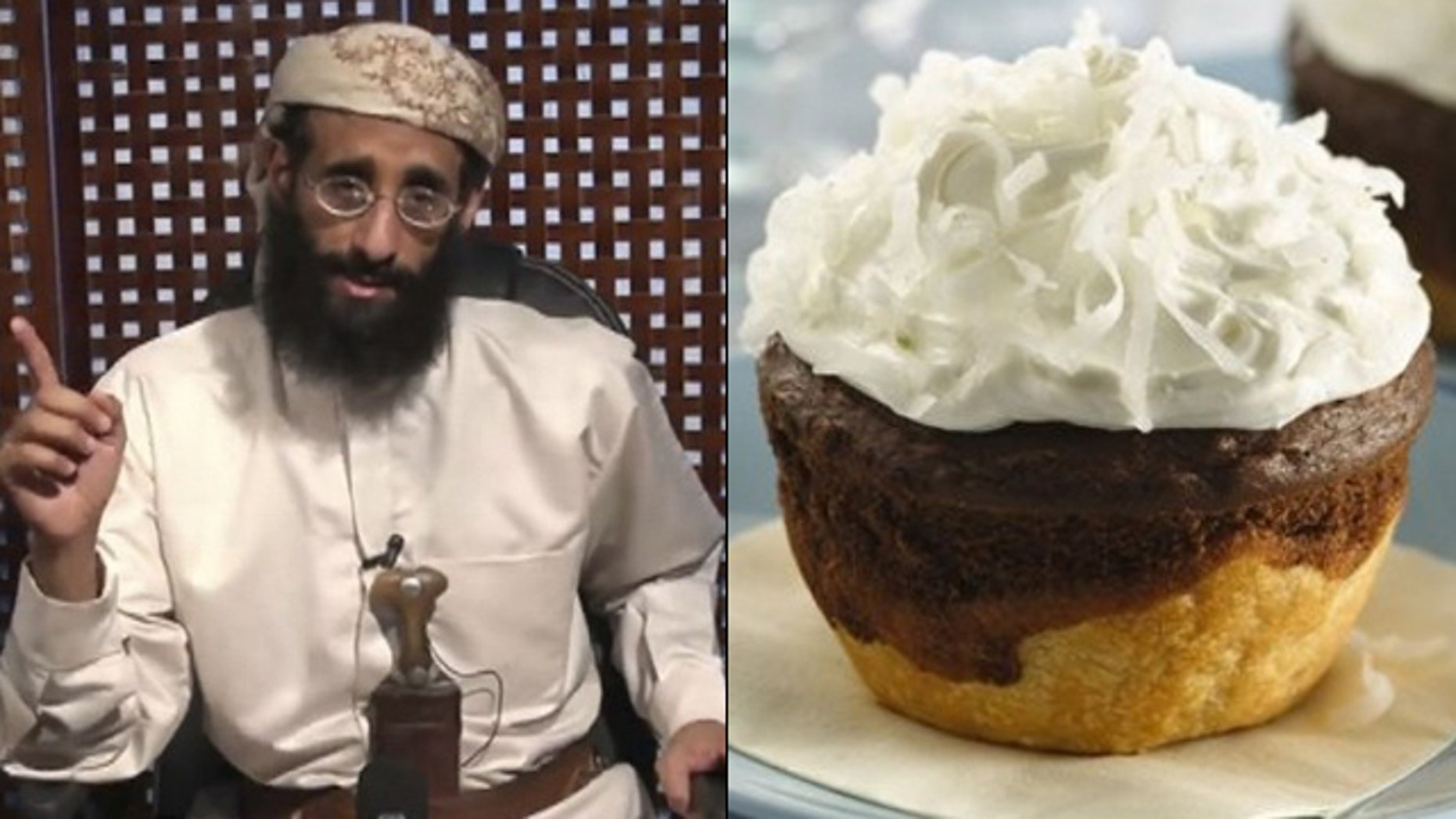 Instead of bomb instructions, radical cleric Anwar al-Awlaki got cupcake recipes.