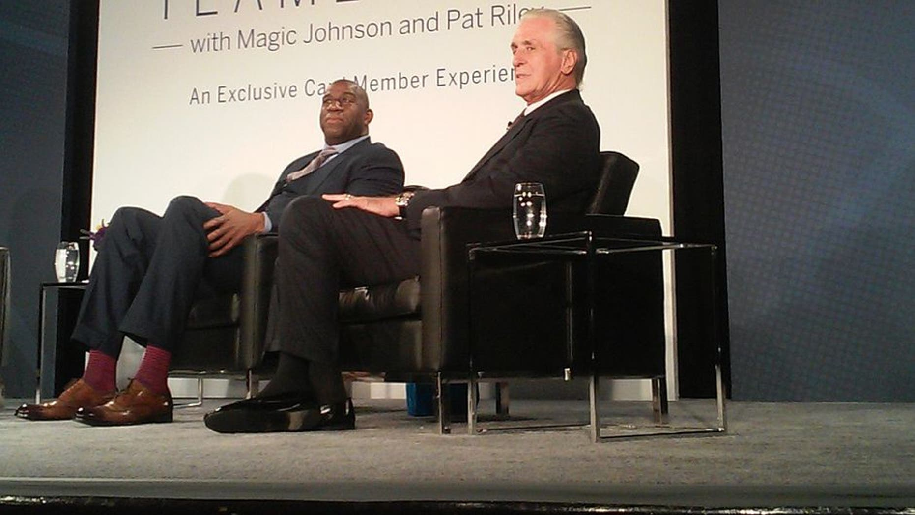 78d7b5a9f Magic Johnson and Pat Riley bring Showtime back to L.A. for one night
