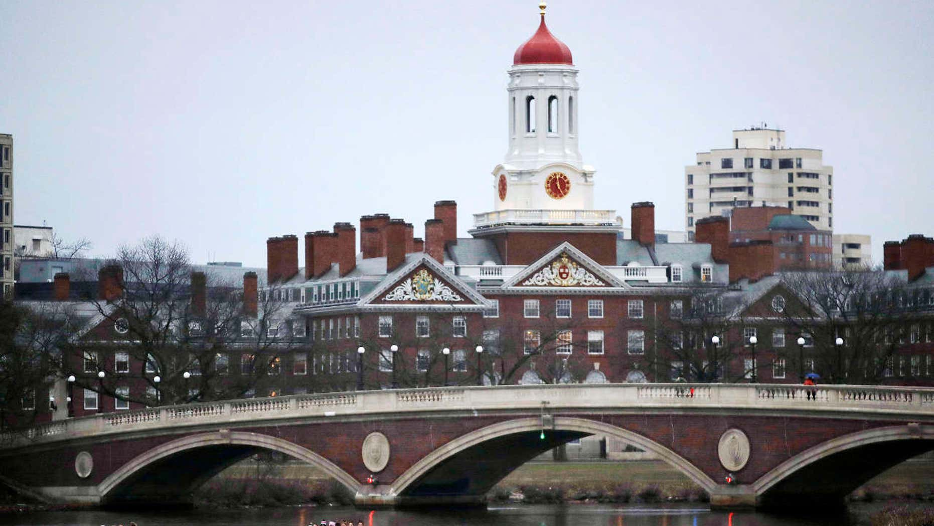 Harvard University says it's upholding a 2016 policy that bans students who join single-gender social clubs from taking leadership roles on campus.