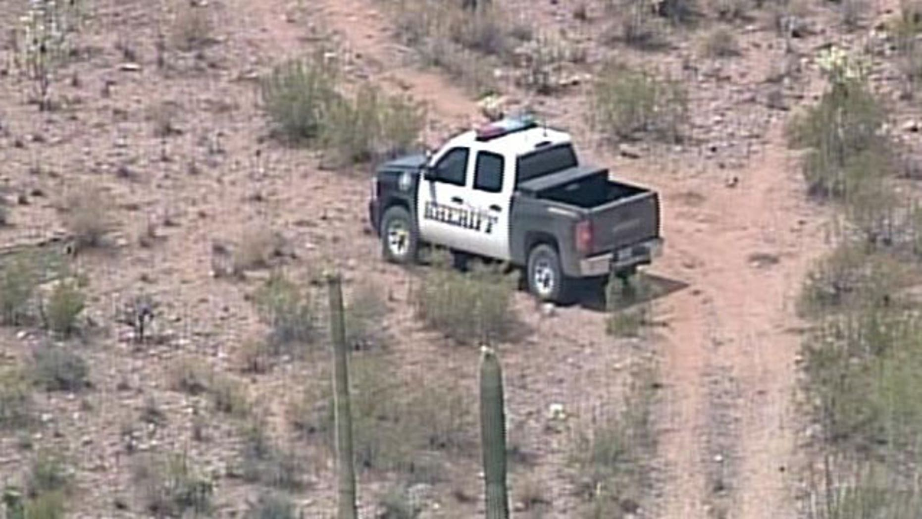 Arizona authorities reportedly found two bodies near a common border crossing Sunday, not far from where a police deputy was shot last April (MyFoxPhoenix.com).