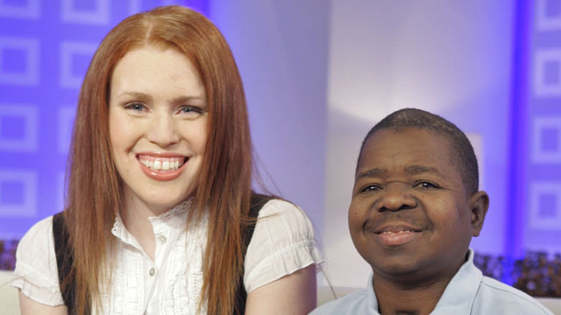 """In this Feb. 26, 2008 file photo, actor Gary Coleman, best known from the television series """"Diff'rent Strokes"""" and his wife Shannon Price, appear on the the NBC """"Today"""" television program in New York."""