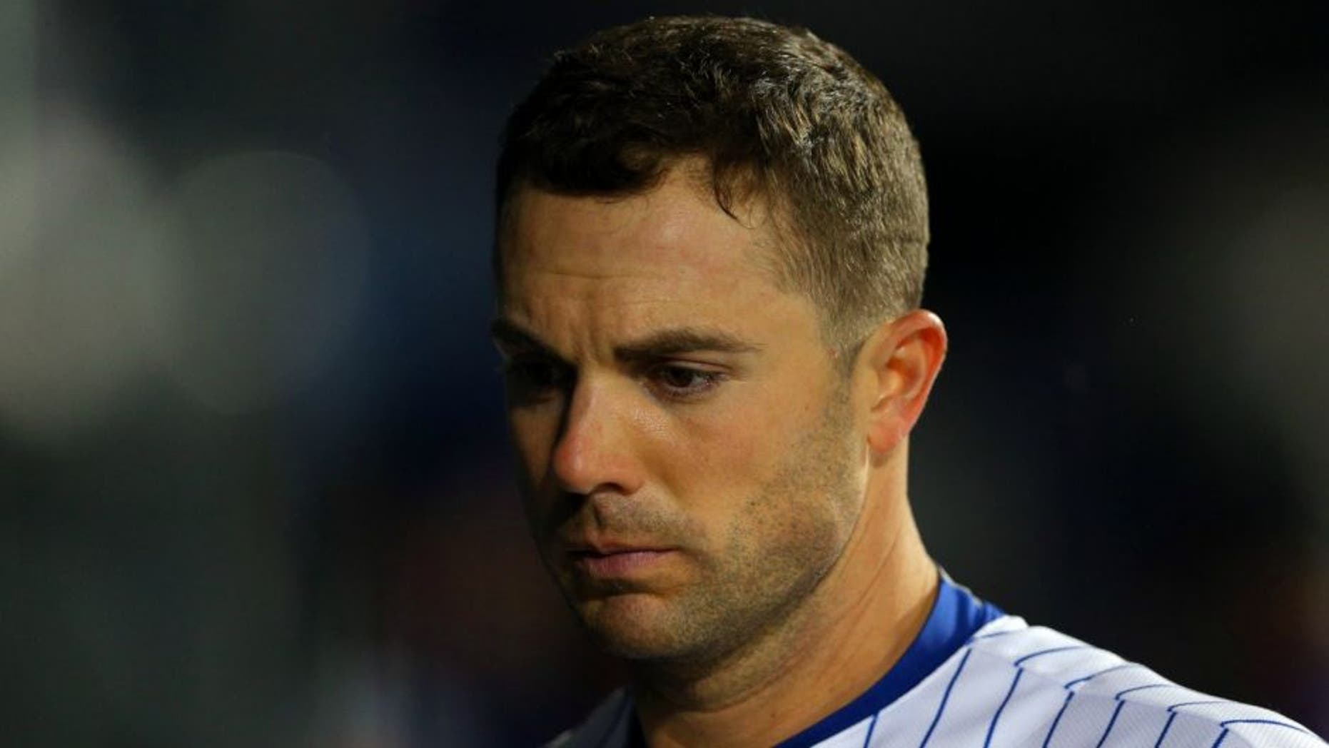 May 18, 2016; New York City, NY, USA; New York Mets third baseman David Wright (5) reacts during the ninth inning against the Washington Nationals at Citi Field. The Nationals defeated the Mets 7-1. Mandatory Credit: Brad Penner-USA TODAY Sports