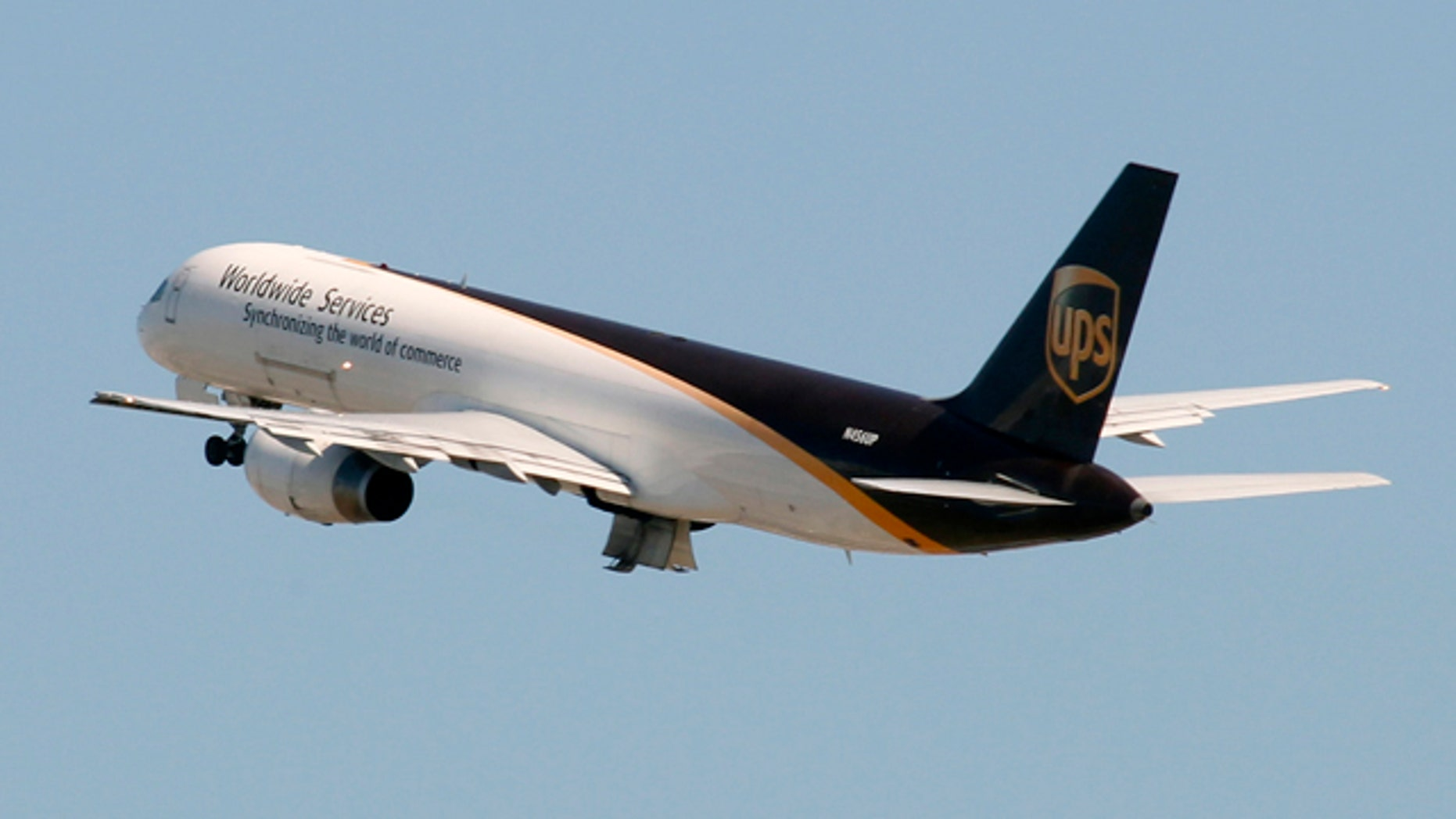 June 14: A UPS Boeing 757-24APF cargo plane takes off from Miami International Airport.