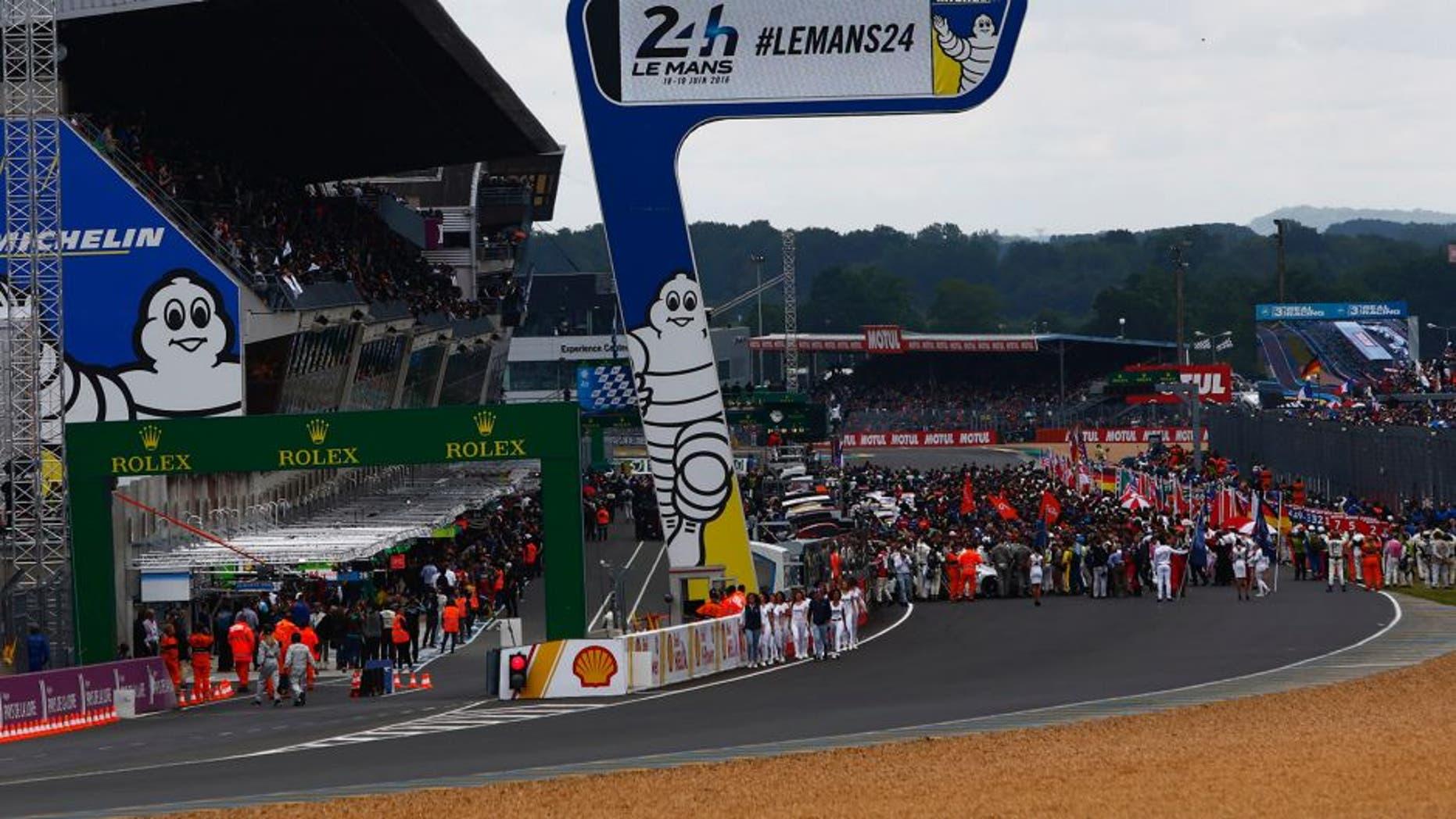 2016 Le Mans 24 Hours Circuit de la Sarthe, Le Mans, France Saturday 18 June 2016 World Copyright: Zak Mauger/LAT Photographic ref: Digital Image _79P6751