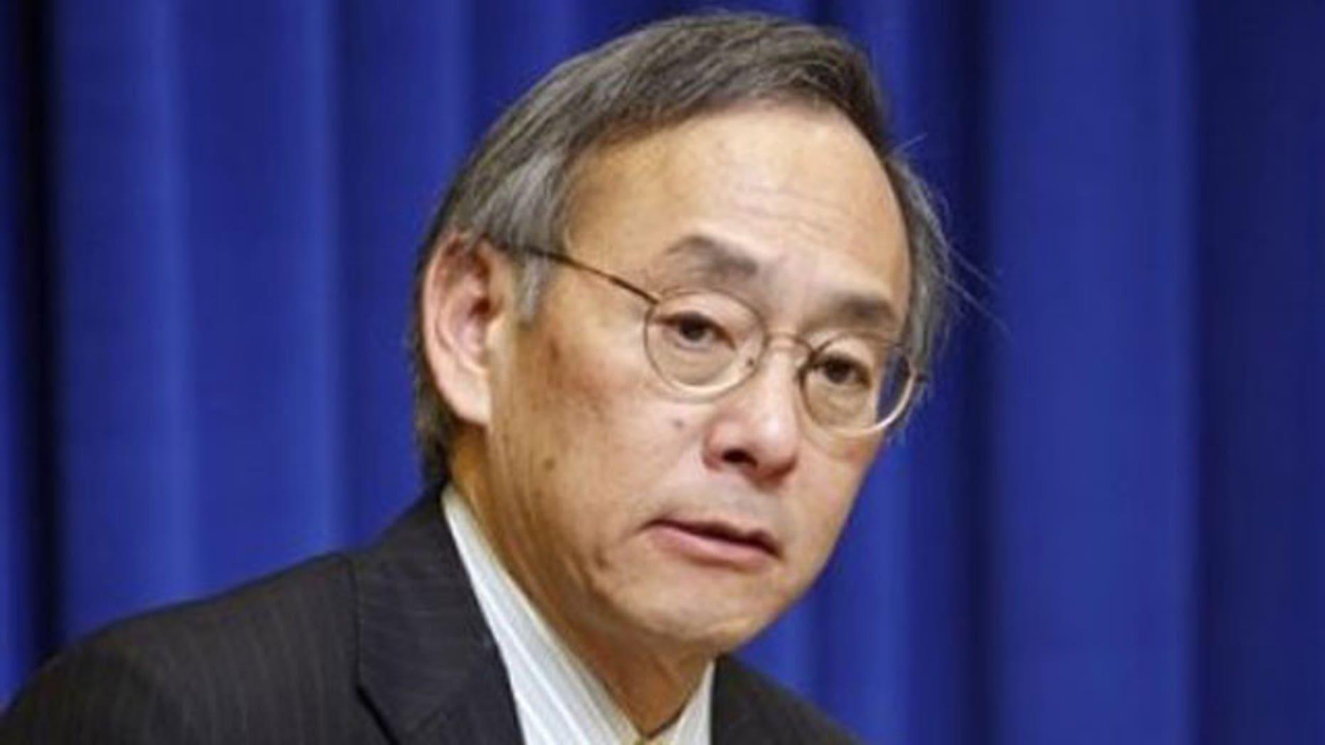 Secretary of Energy Steven Chu (AP).