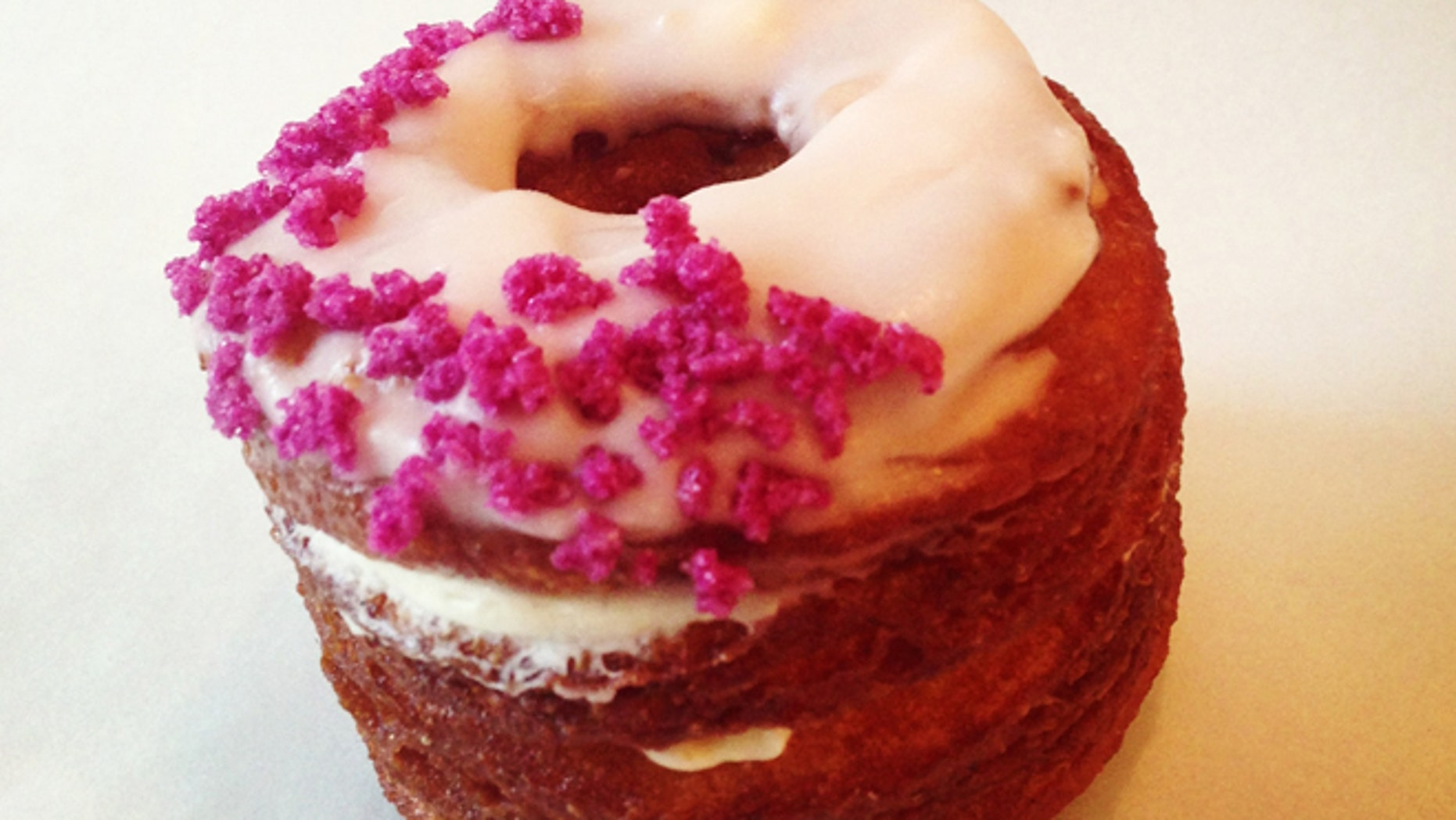 Dominique Ansel's new cronut is a cross between a croissant and doughnut.