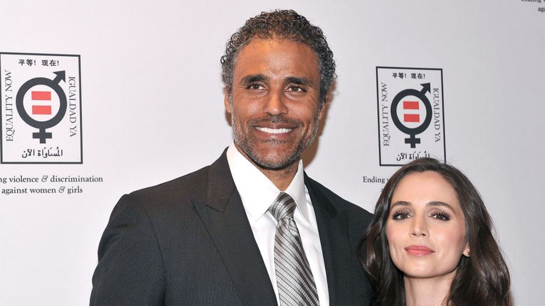 NEW YORK, NY - APRIL 19: Rick Fox and actress Eliza Dushku (R) attend the Equality Now 20th Anniversary Fundraiser Event at Asia Society on April 19, 2012 in New York City. (Photo by Fernando Leon/Getty Images)