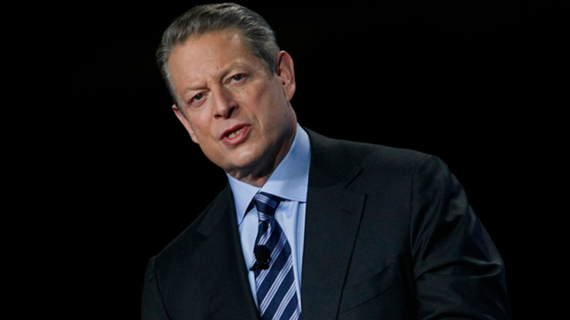In this Nov. 11, 2009 file photo, former Vice President Al Gore speaks during the Greenbuild International Conference and Expo in Phoenix.
