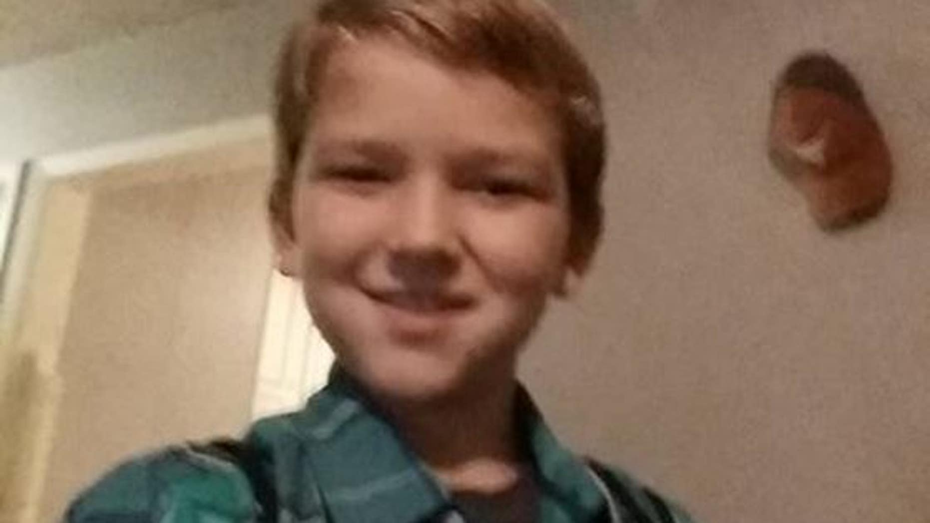 Kayden Culp, 10, was doused with gasoline and set on fire.