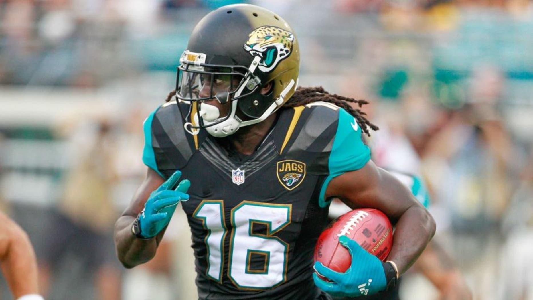 Jaguars running back Denard Robinson last August.