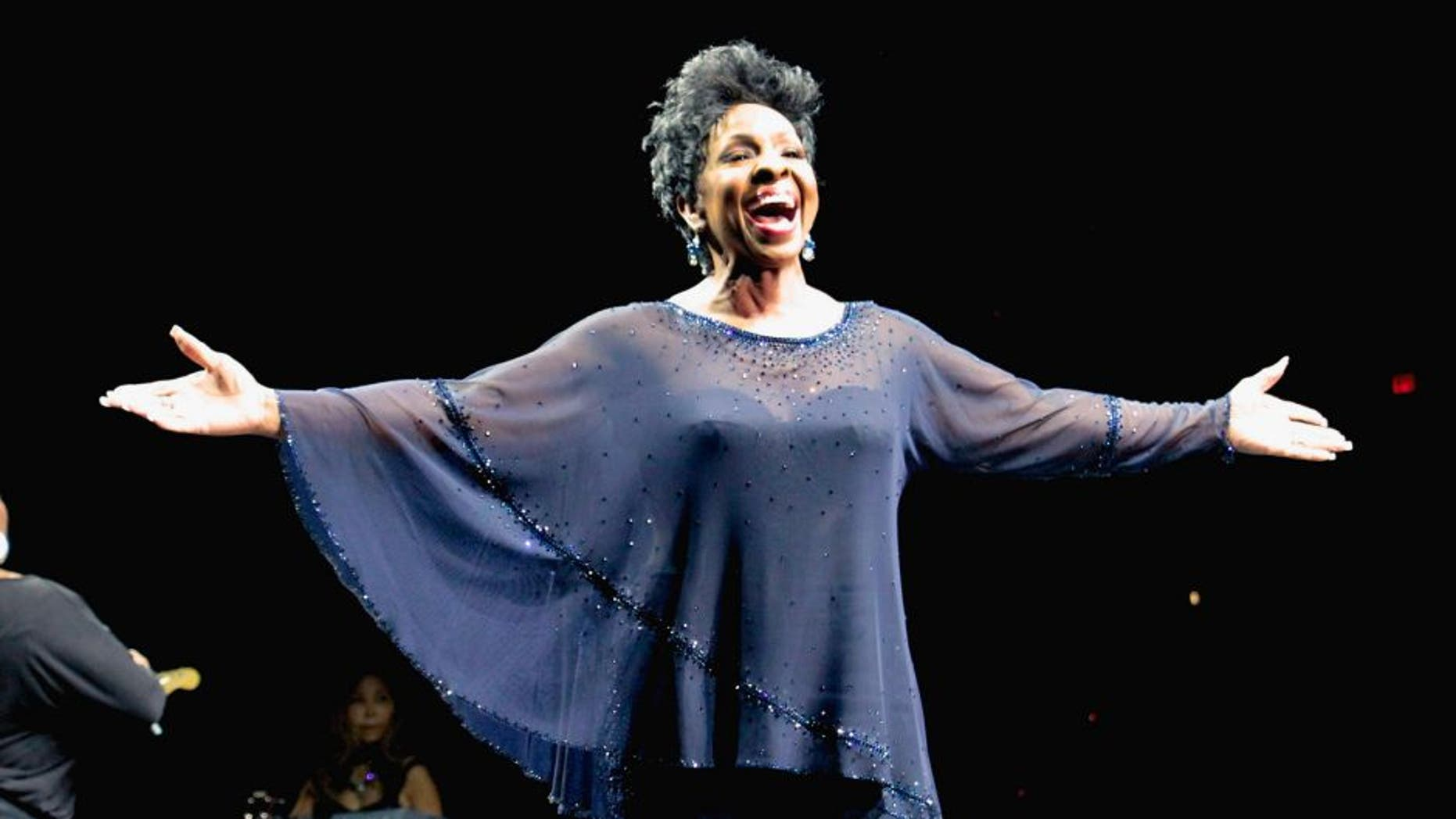 ATLANTIC CITY, NJ - MAY 10: Gladys Knight performs during the 2014 Mother's Day Music Festival at Boardwalk Hall Arena on May 10, 2014 in Atlantic City, New Jersey. (Photo by Donald Kravitz/Getty Images)