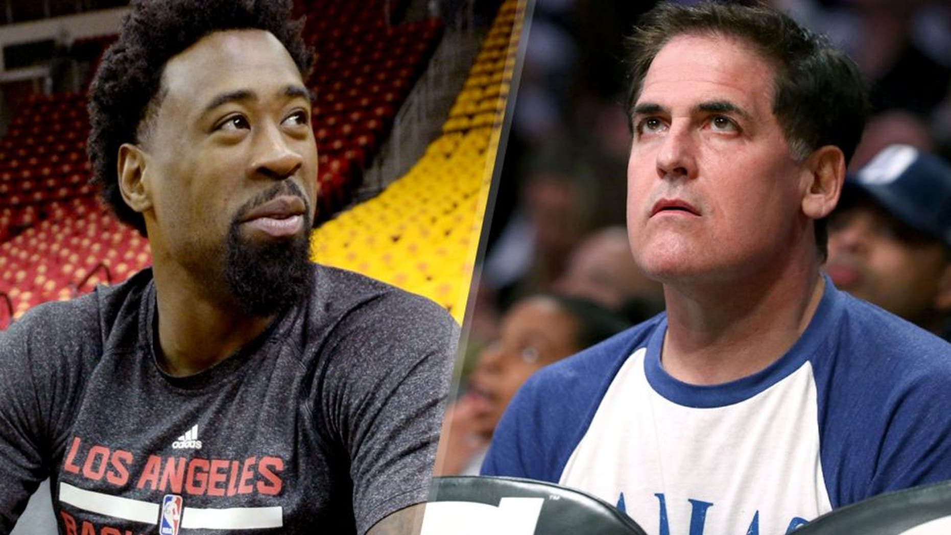 HOUSTON, TX - MAY 12: DeAndre Jordan #6 of the Los Angeles Clippers at the morning shoot around before a game against the Houston Rockets in Game Five of the Western Conference Semifinals during the 2015 NBA Playoffs on May 12, 2015 at the Toyota Center in Houston, Texas. NOTE TO USER: User expressly acknowledges and agrees that, by downloading and or using this photograph, User is consenting to the terms and conditions of the Getty Images License Agreement. Mandatory Copyright Notice: Copyright 2015 NBAE (Photo by Andrew D. Bernstein/NBAE via Getty Images) LOS ANGELES, CA - MARCH 08: Owner Mark Cuban of the Dallas Mavericks attends the NBA game between the Dallas Mavericks and the Los Angeles Lakers at Staples Center on March 8, 2015 in Los Angeles, California. The Mavericks defeated the Lakers 100-93. NOTE TO USER: User expressly acknowledges and agrees that, by downloading and/or using this photograph, user is consenting to the terms and conditions of the Getty Images License Agreement. (Photo by Victor Decolongon/Getty Images)