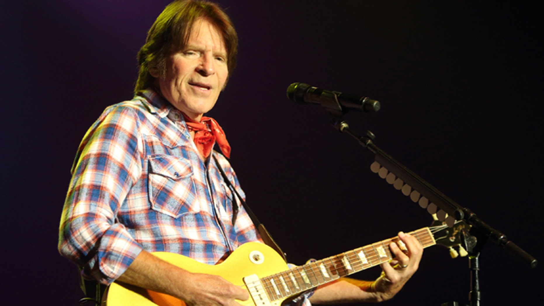 July 18, 2014: Singer-songwriter John Fogerty performs in concert at The Sands Event Center in Bethlehem, Pa.