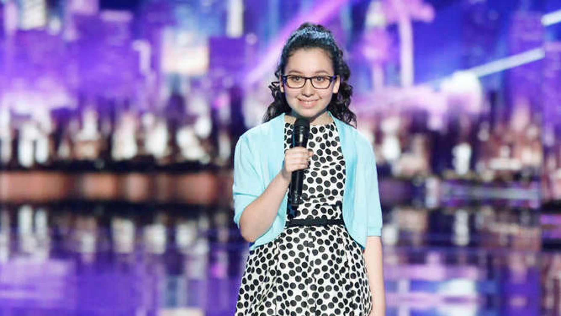 Lori Mae Hernandez on 'America's Got Talent.'