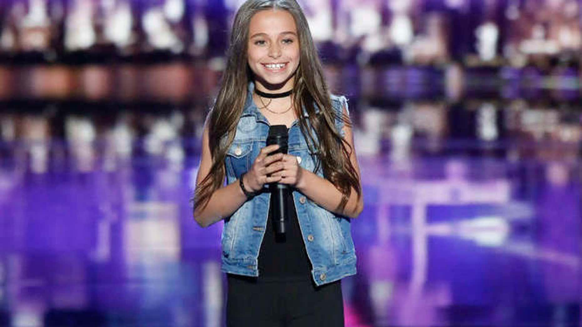 Skylar Katz on 'America's Got Talent.'