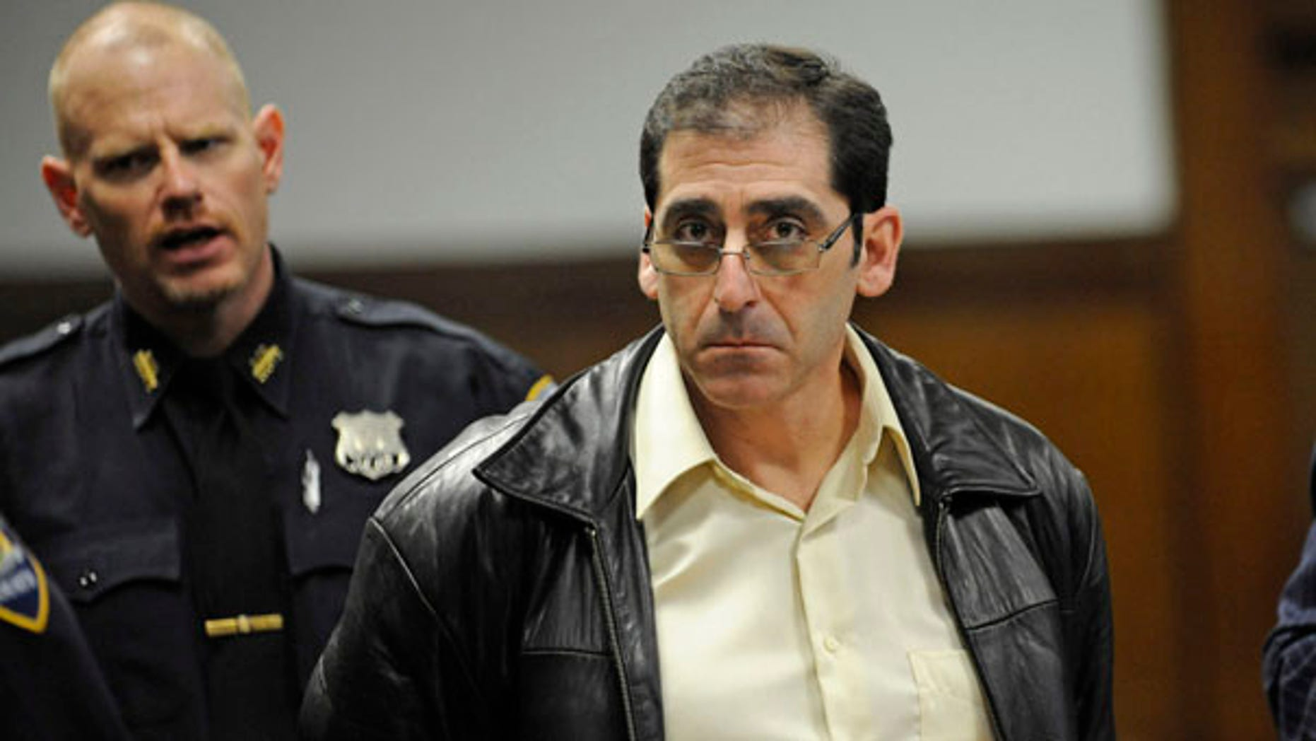 FILE: Construction crane rigger William Rapetti appears during his indictment in Manhattan criminal court in New York on manslaughter and other charges stemming from a March 15, 2008 crane collapse in Manhattan that killed seven people and injured two dozen. A judge acquitted Rapetti of all charges.