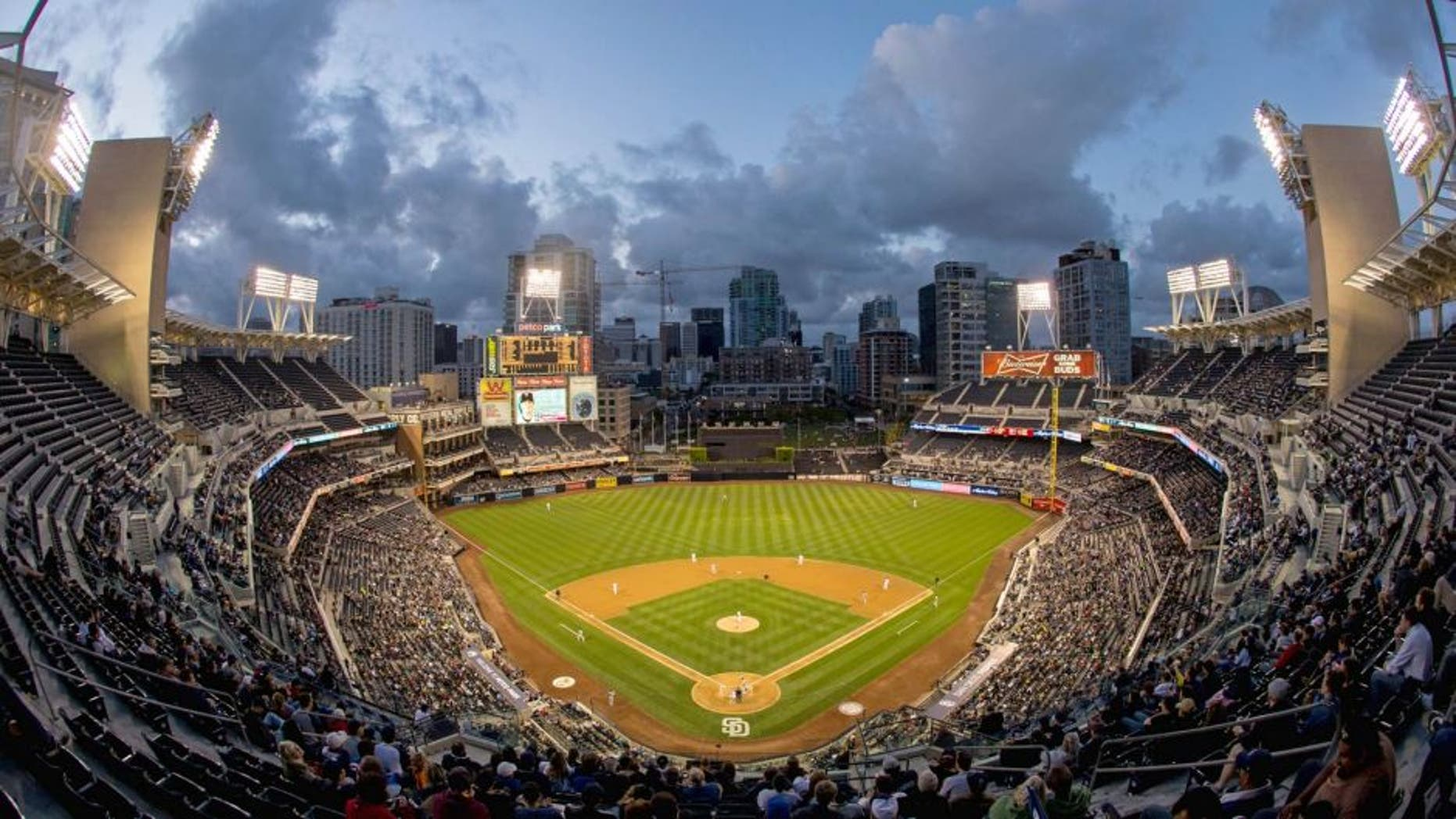 SAN DIEGO, CA - MAY 20: A general view of Petco Park during a game between the Minnesota Twins and San Diego Padres on May 20, 2014 at Petco Park in San Diego, California. The Twins defeated the Padres 5-3. (Photo by Brace Hemmelgarn/Minnesota Twins/Getty Images)