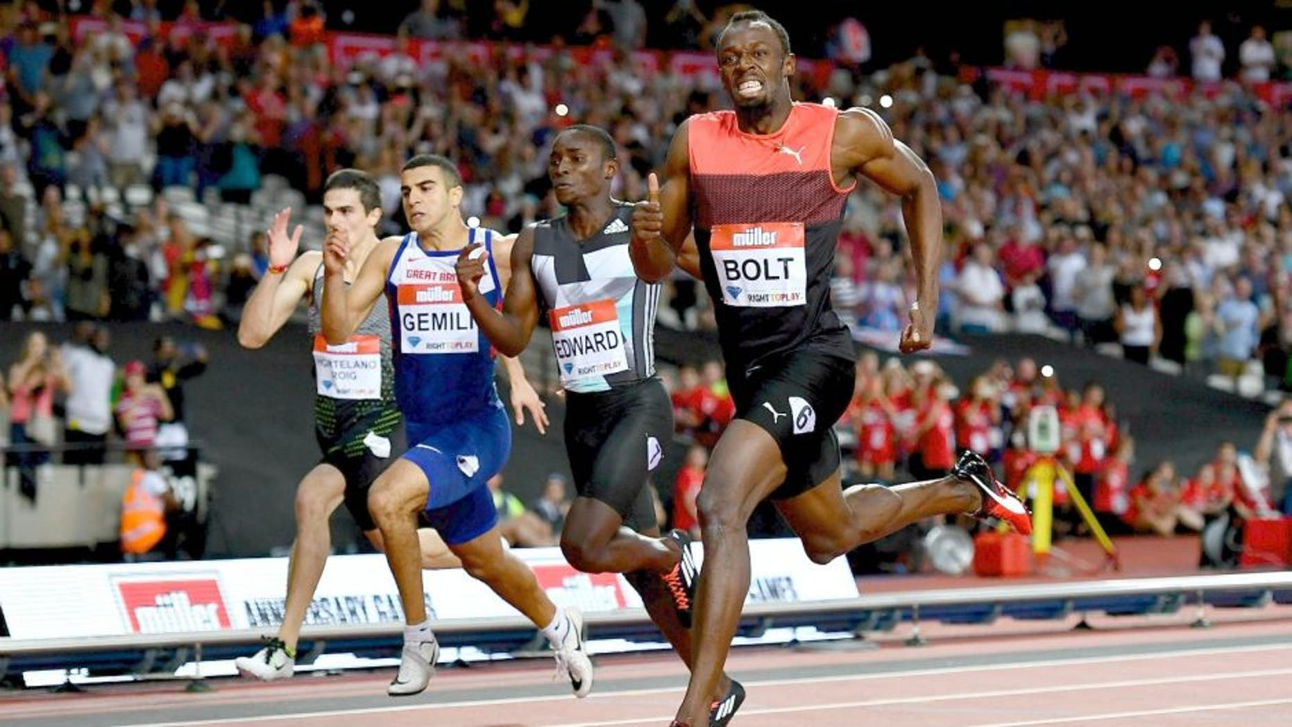 during Day One of the Muller Anniversary Games at The Stadium - Queen Elizabeth Olympic Park on July 22, 2016 in London, England. (Photo by Dan Mullan/Getty Images)