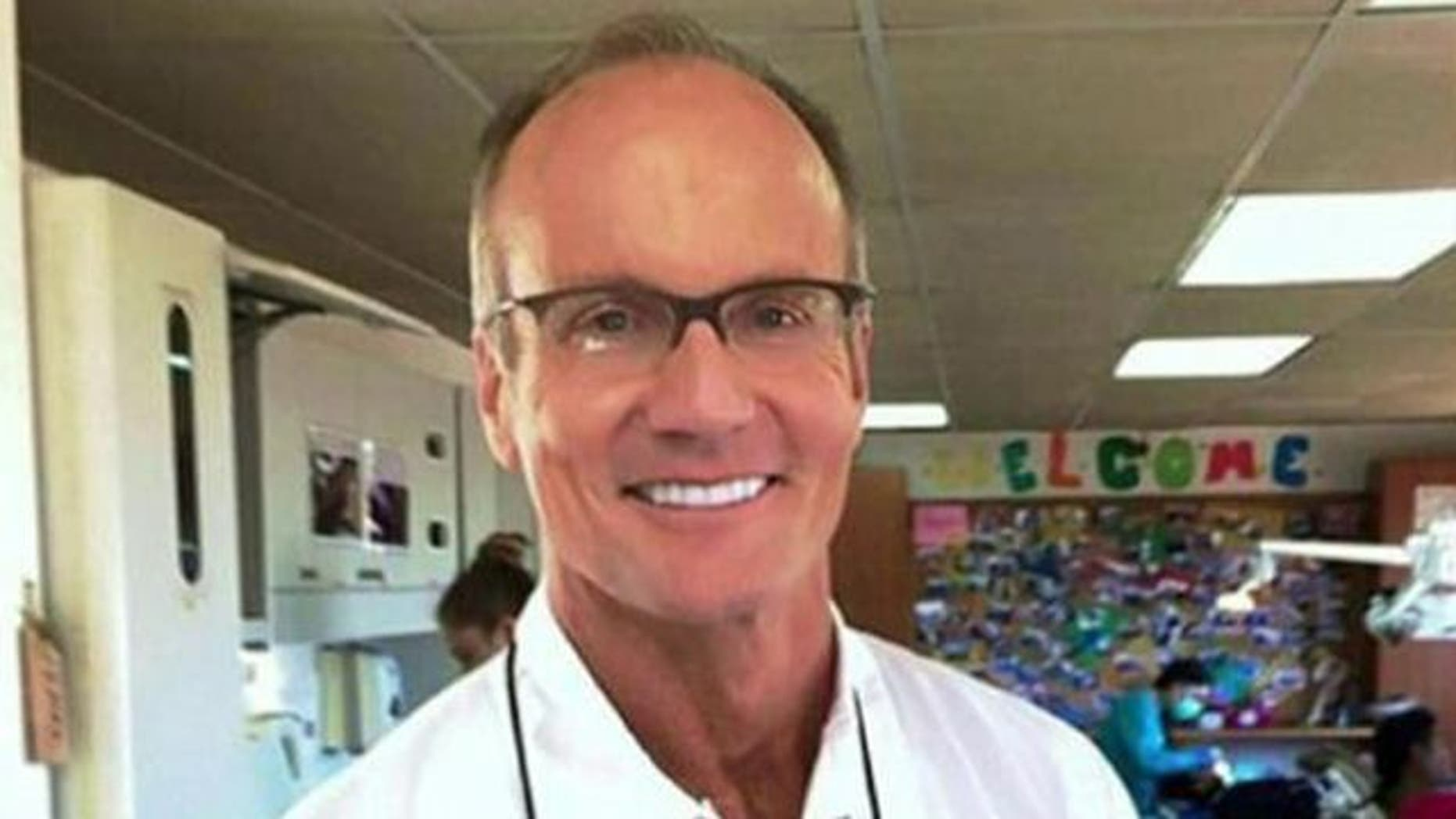 This undated image shows Walter Palmer, a Minnesota dentist who sparked an international furor by killing Cecil the lion in July.