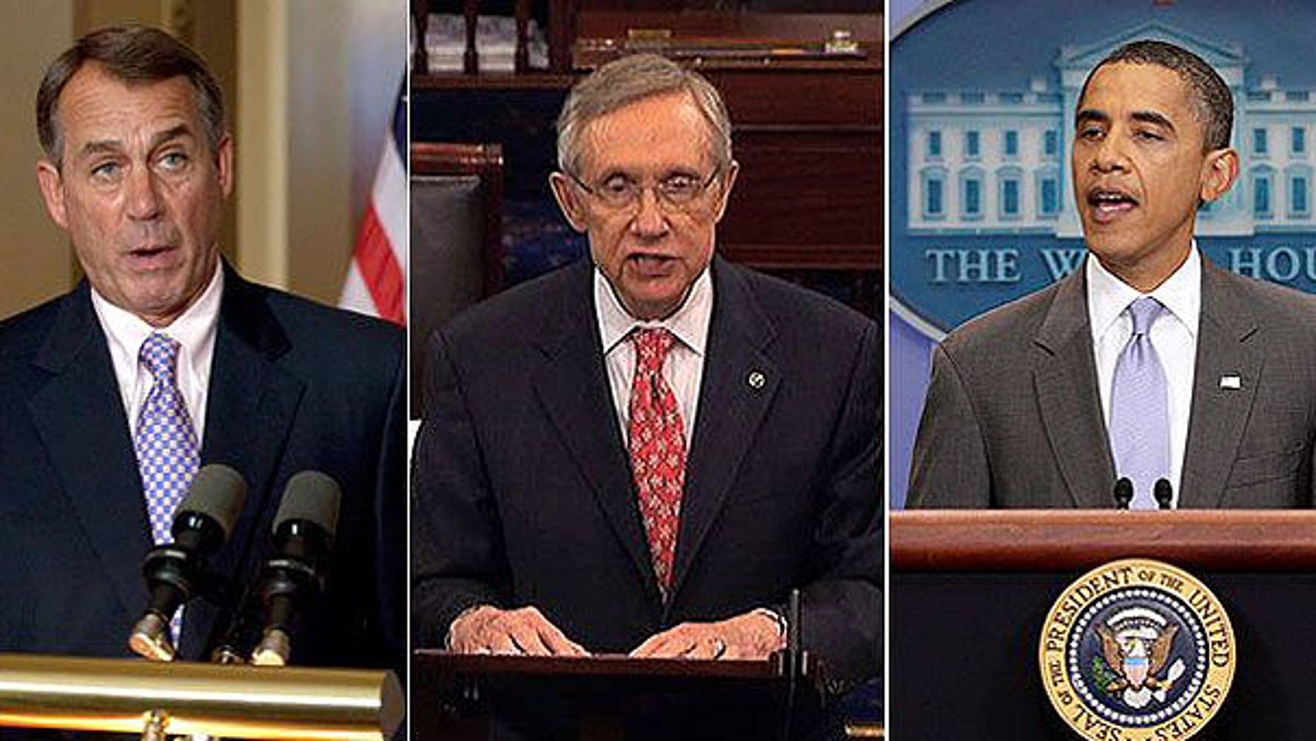 Sunday: President Obama announced an agreement with GOP and Democratic leaders on a compromise debt-reduction plan.