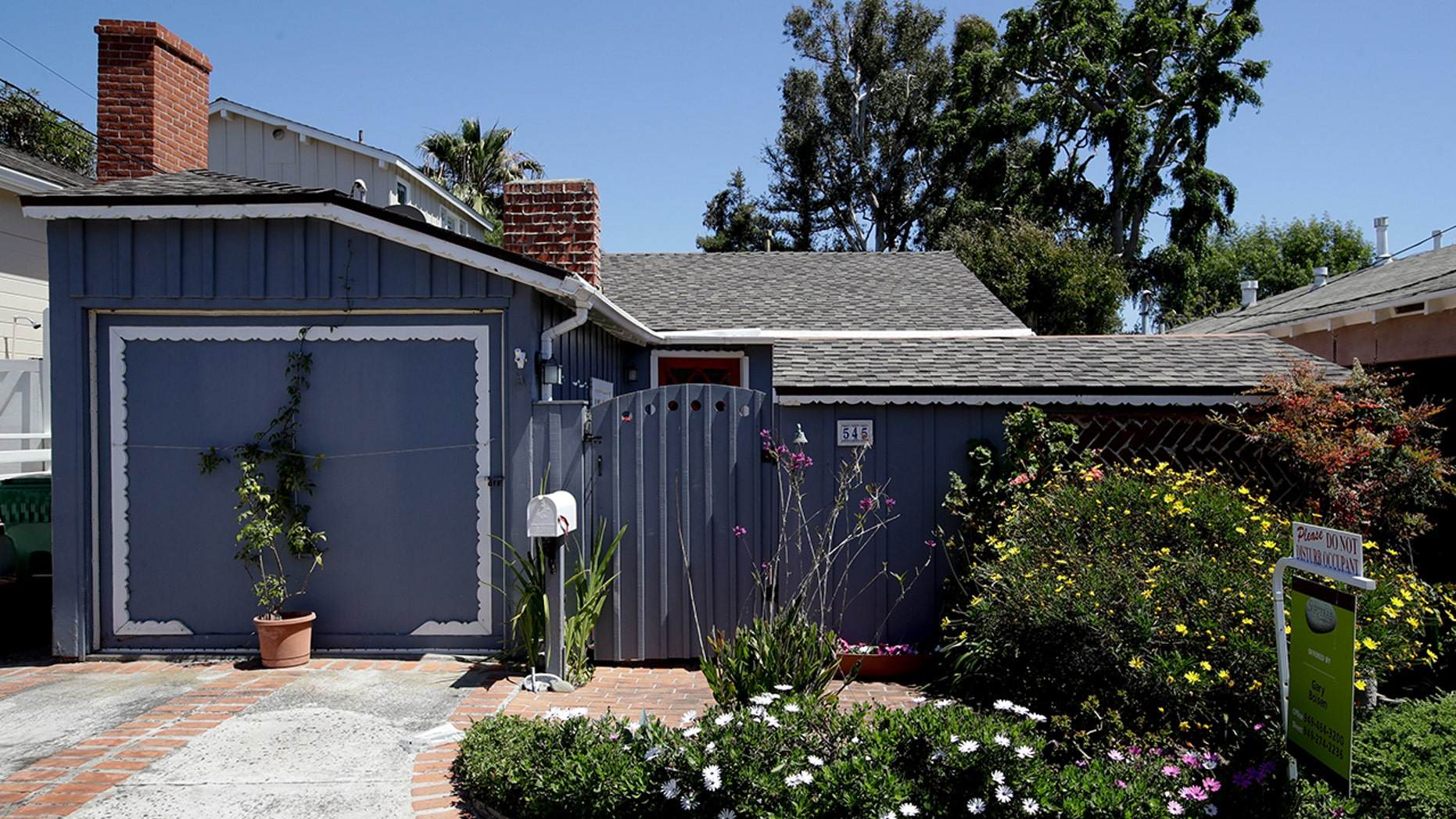 This tiny cottage on Lombardy Lane in Laguna Beach, Calif. is for sale at just shy of $1 millions is shown Friday, May 25, 2018. This one bedroom home is 595 square feet and is a few blocks from the ocean