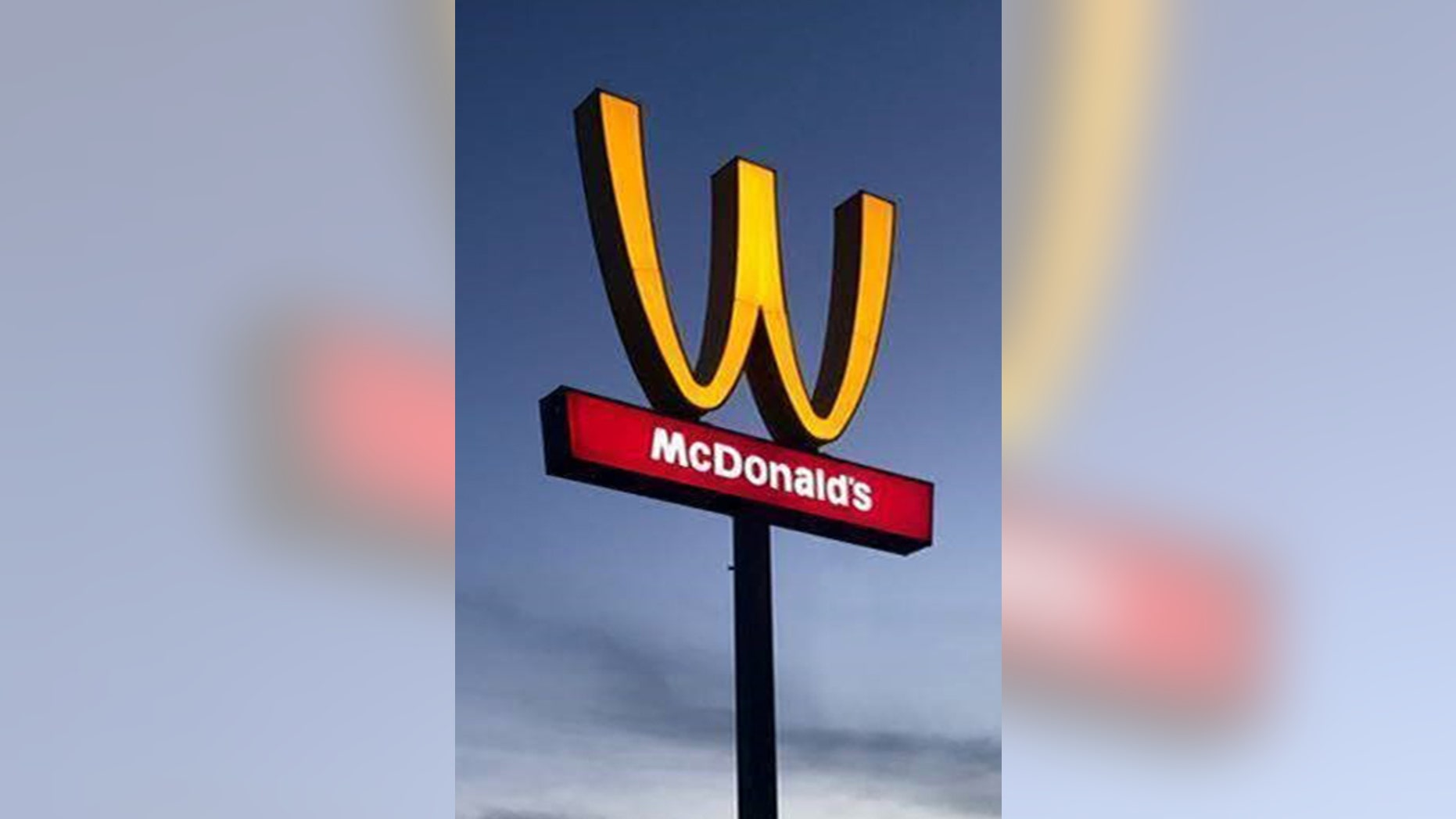 4ac6d9955 The fast-food chain is drawing mixed reactions for flipping its iconic logo  upside down