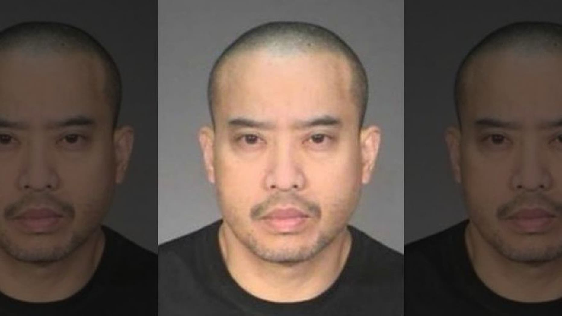 Lucifer Vincent Nguyen, 44, is wanted in connection with the woman's death in Mendota Heights on Saturday.