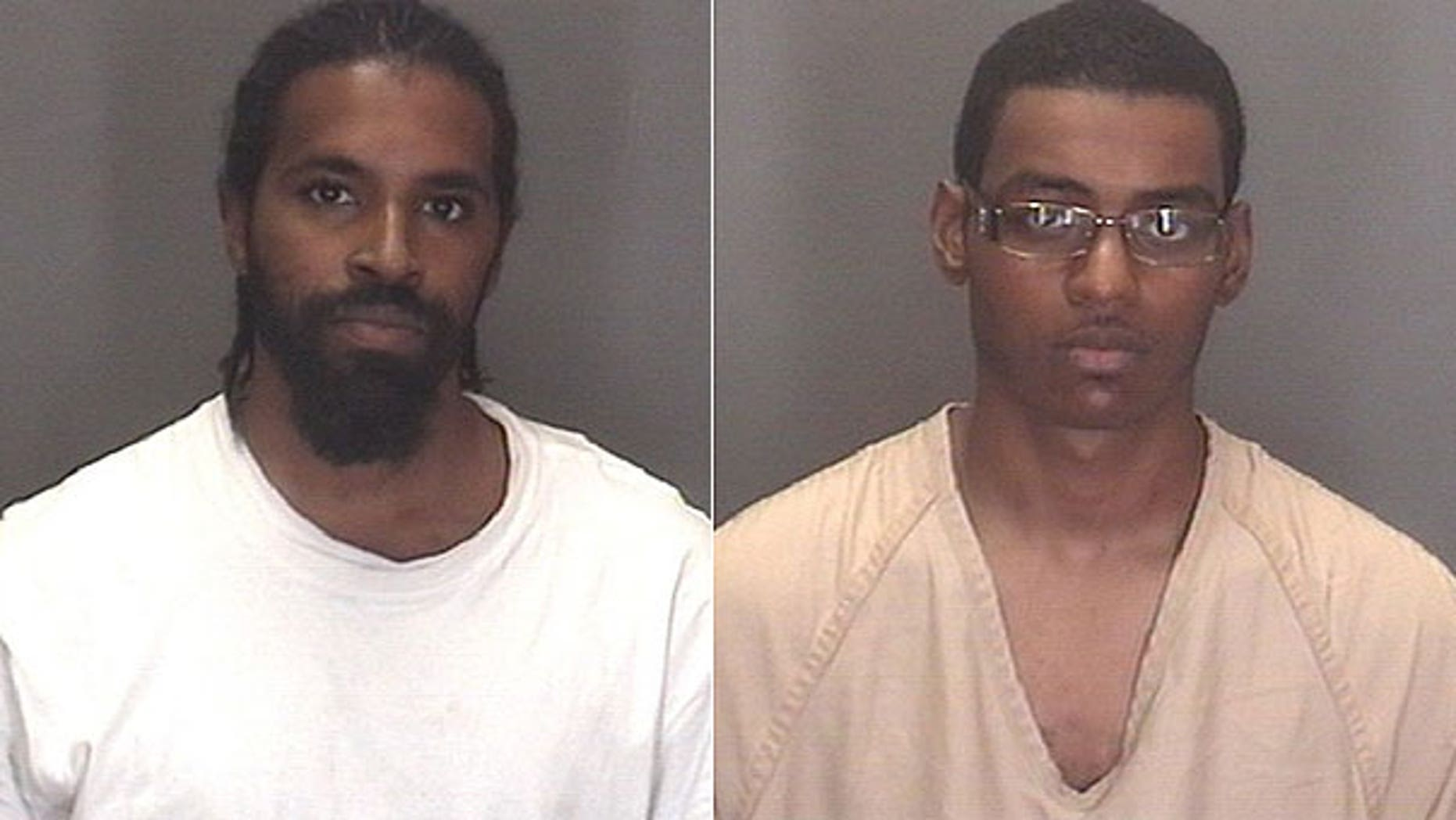 Aug. 1: Kevin D. McCray, left, is wanted on charges of attempted murder and use of a firearm. Steven L. Taggart, right, is charged on an outstanding aggravated assault warrant unrelated to the incident.