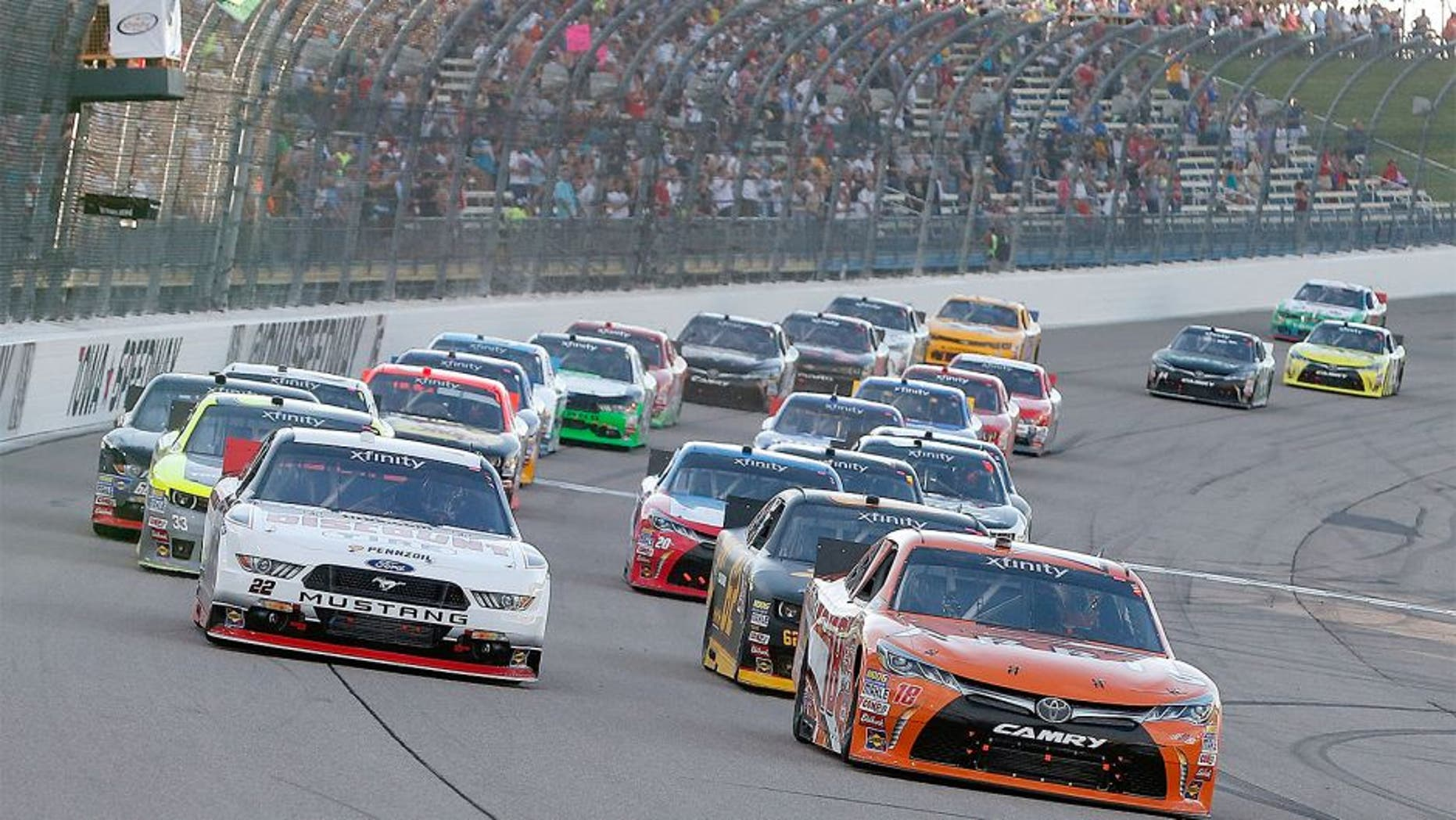 Results: U S  Cellular 250 XFINITY Series race at Iowa Speedway