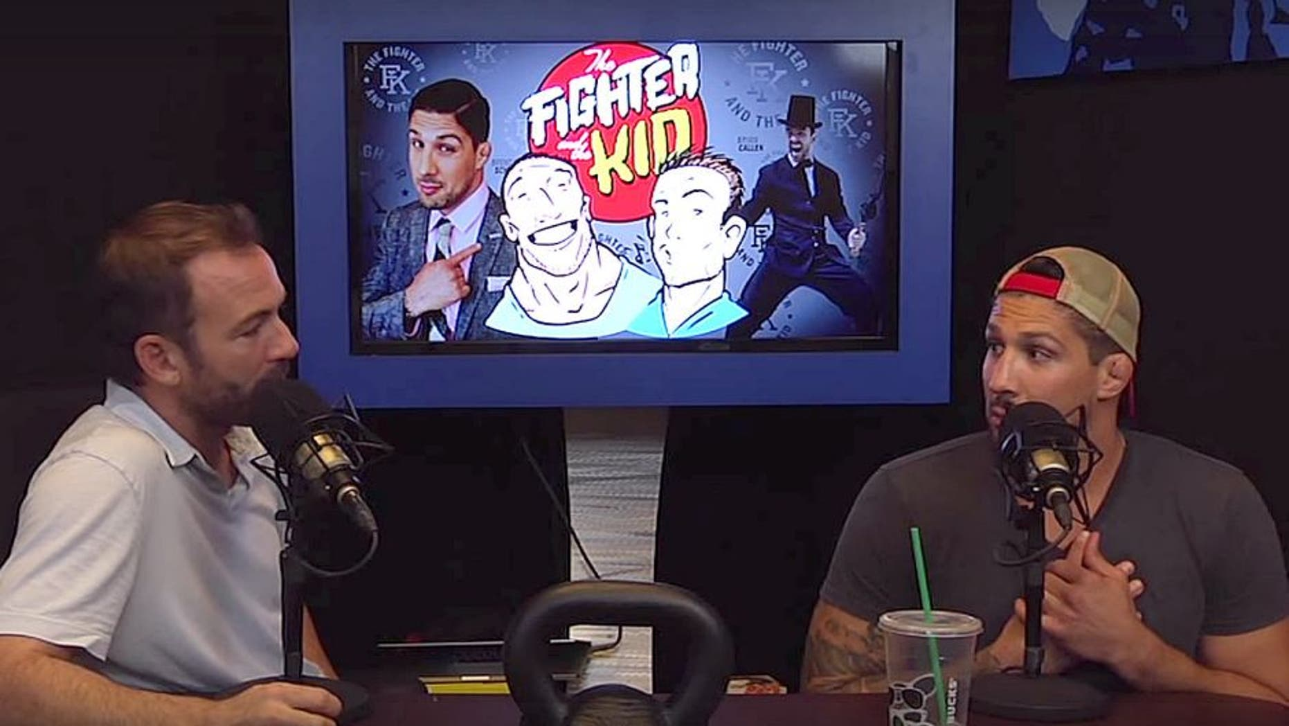 Fighter and the Kid co-hosts Bryan Callen and Brendan Schaub
