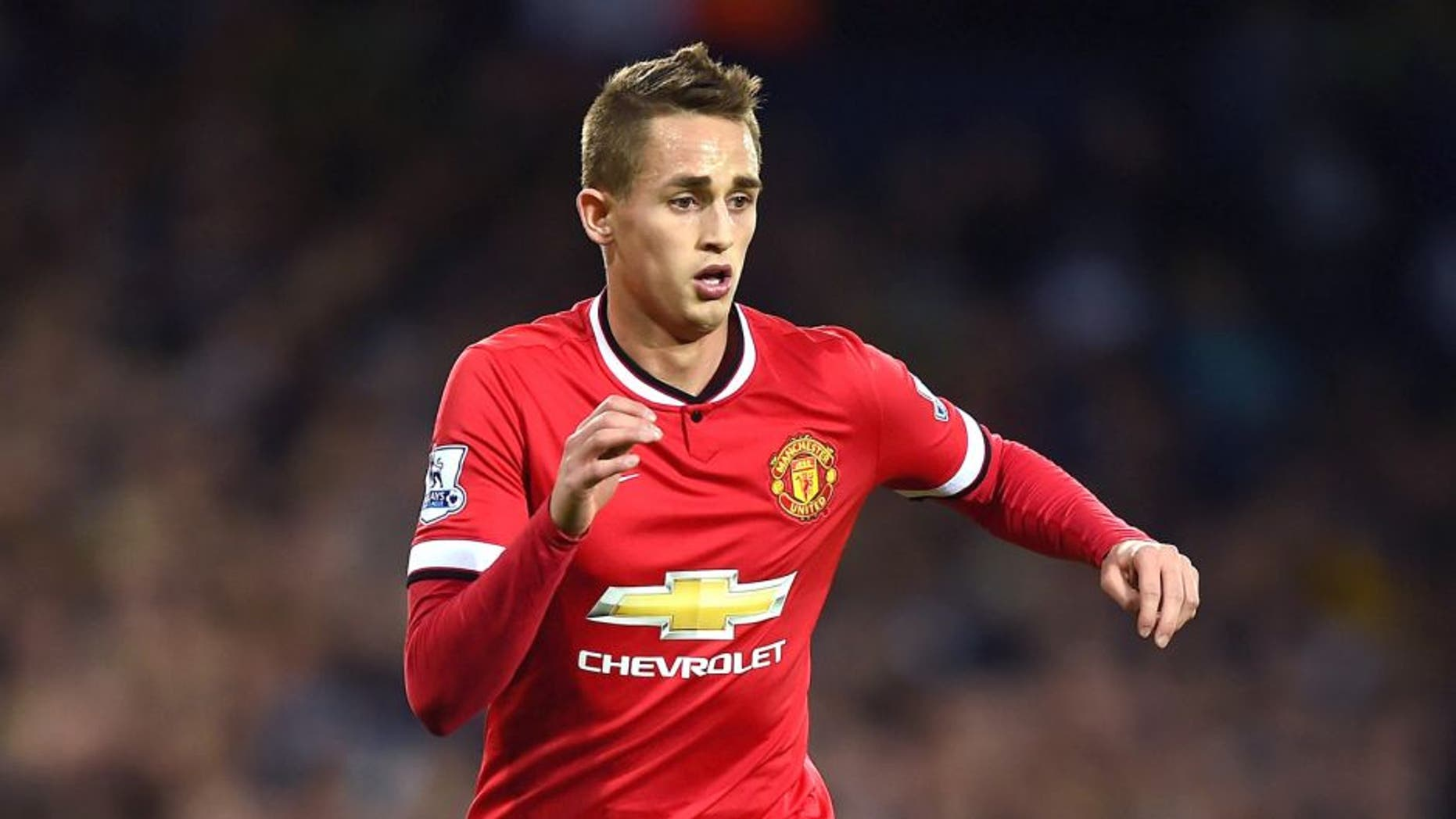 WEST BROMWICH, ENGLAND - OCTOBER 20: Adnan Januzaj of Manchester United in action during the Barclays Premier League match between West Bromwich Albion and Manchester United at The Hawthorns on October 20, 2014 in West Bromwich, England. (Photo by Laurence Griffiths/Getty Images)