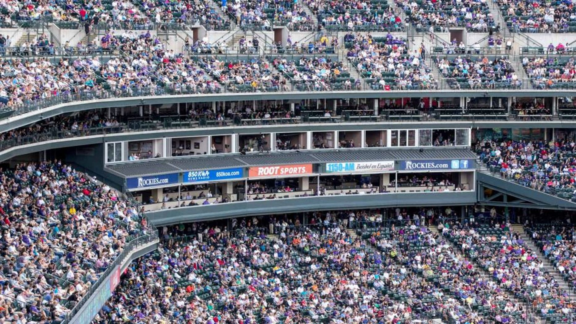 DENVER, CO - MAY 19: A general view of the stadium as fans watch the San Francisco Giants play the Colorado Rockies at Coors Field on May 19, 2013 in Denver, Colorado. The Rockies defeated the Giants 5-0. (Photo by Justin Edmonds/Getty Images)