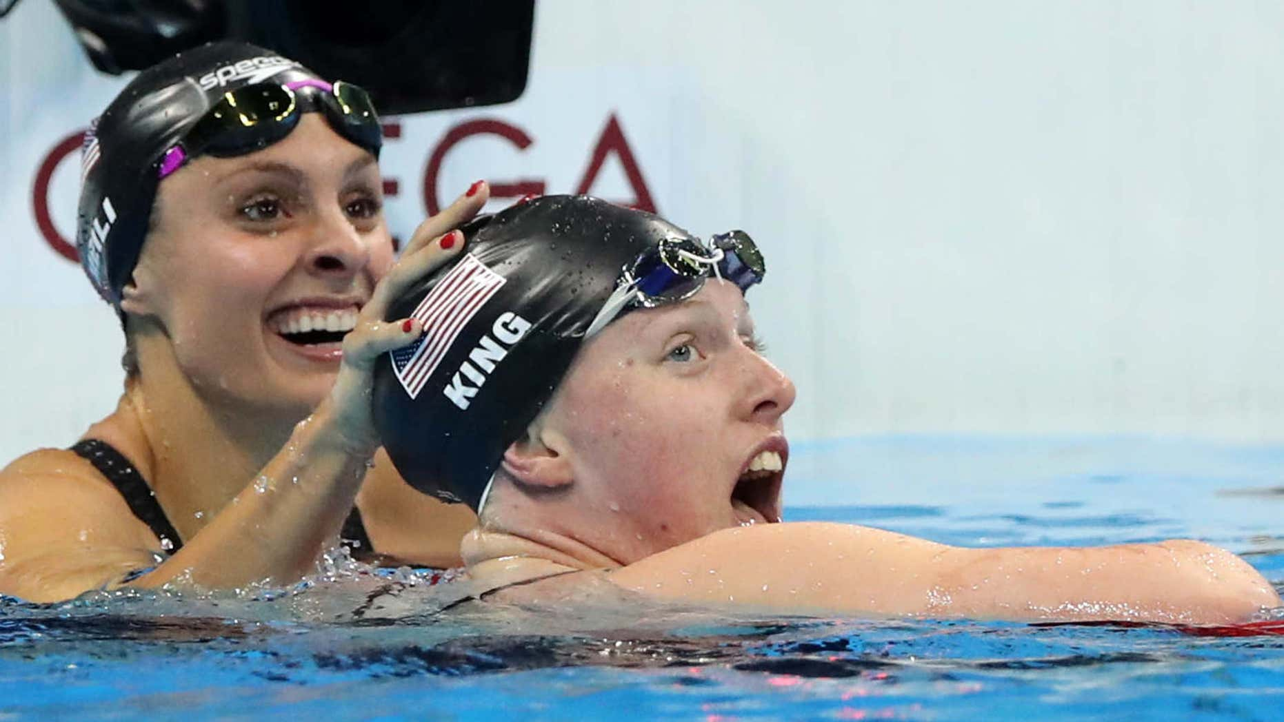 Team USA swimmer Lilly King has been outspoken about doping at the Olympics.