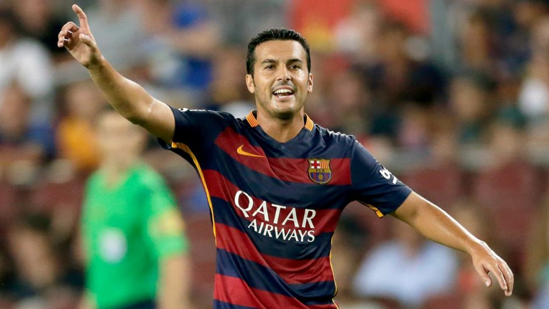 Barca's technical secretary assures that Pedro has asked to