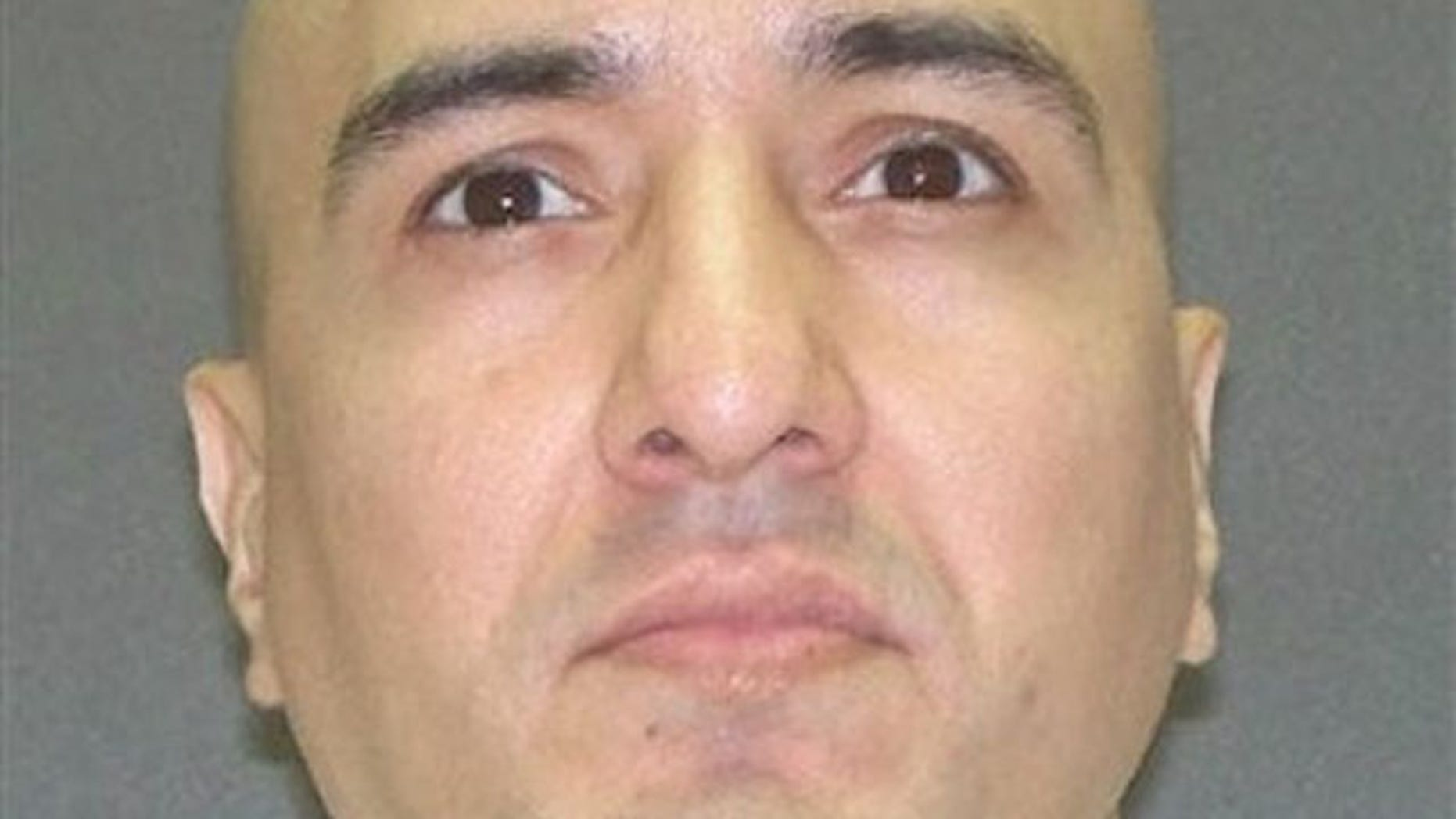 Peter Anthony Cantu is shown in this undated Texas Department of Criminal Justice handout photo. Cantu is the last of three men scheduled to die by lethal injection for the June 1993 murders of 14-year-old Jennifer Ertman and 16-year-old Elizabeth Pena (AP).