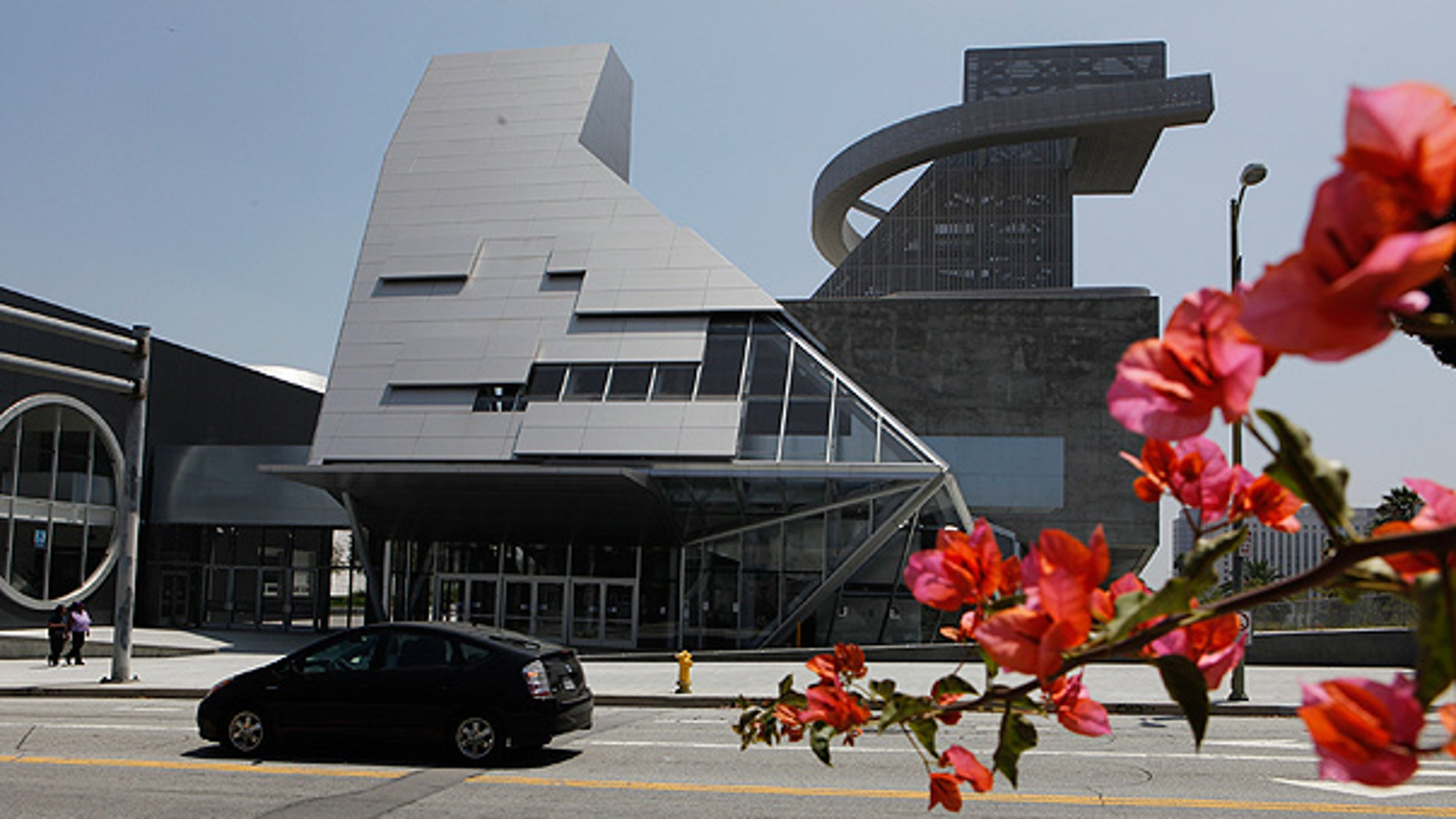 Aug. 10: The Visual and Performing Arts High School is seen in Los Angeles.