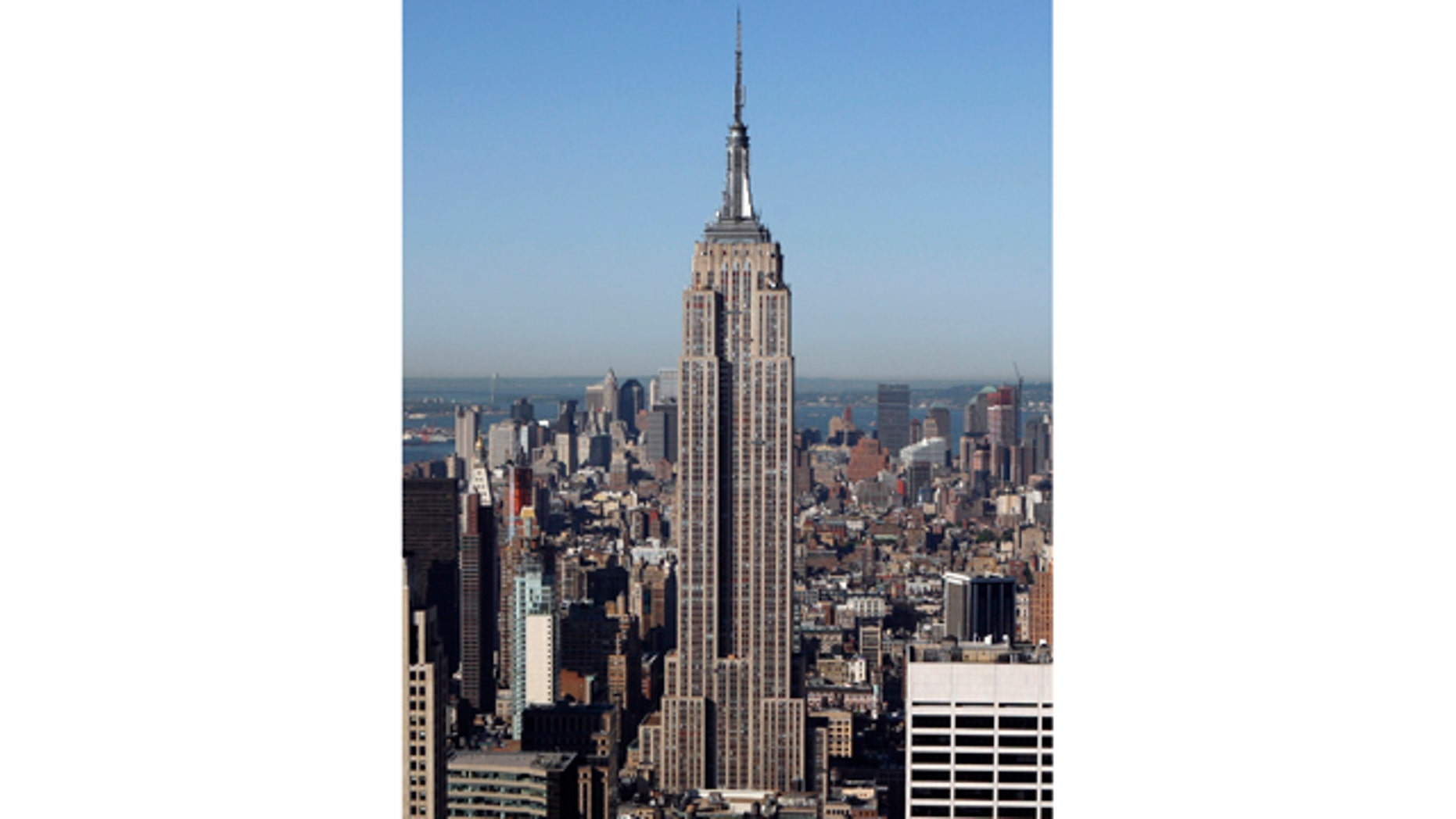 In this May 29, 2008 file photo, the Empire State Building stands in New York.