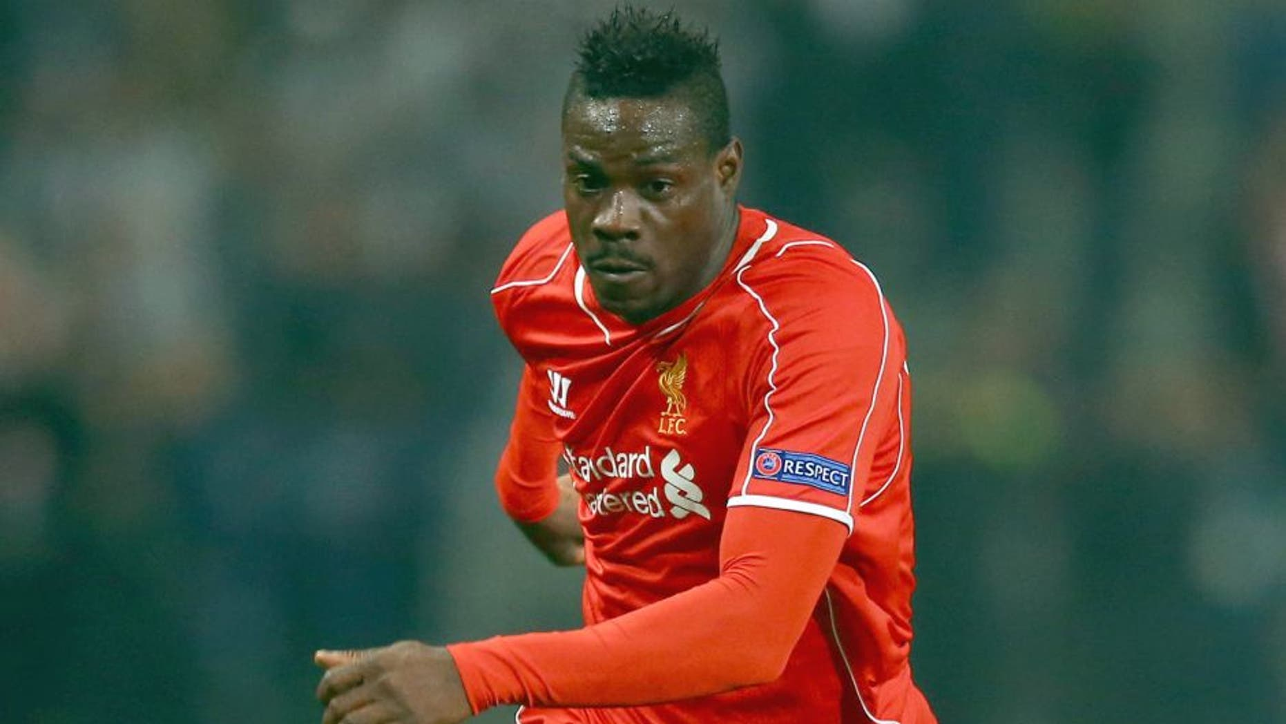 ISTANBUL, TURKEY - FEBRUARY 26: Mario Balotelli of Liverpool during the 2nd leg of the UEFA Europa League Round of 32 match between Besiktas and Liverpool at the Ataturk Olympic Stadium on February 26, 2015 in Istanbul, Turkey. (Photo by Richard Heathcote/Getty Images)