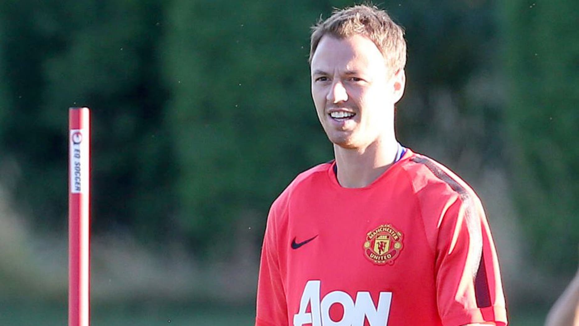 SEATTLE, WA - JULY 16: Jonny Evans of Manchester United in action during a first team training session as part of their pre-season tour of the USA at VMAC on July 16, 2015 in Seattle, Washington. (Photo by Matthew Peters/Man Utd via Getty Images)