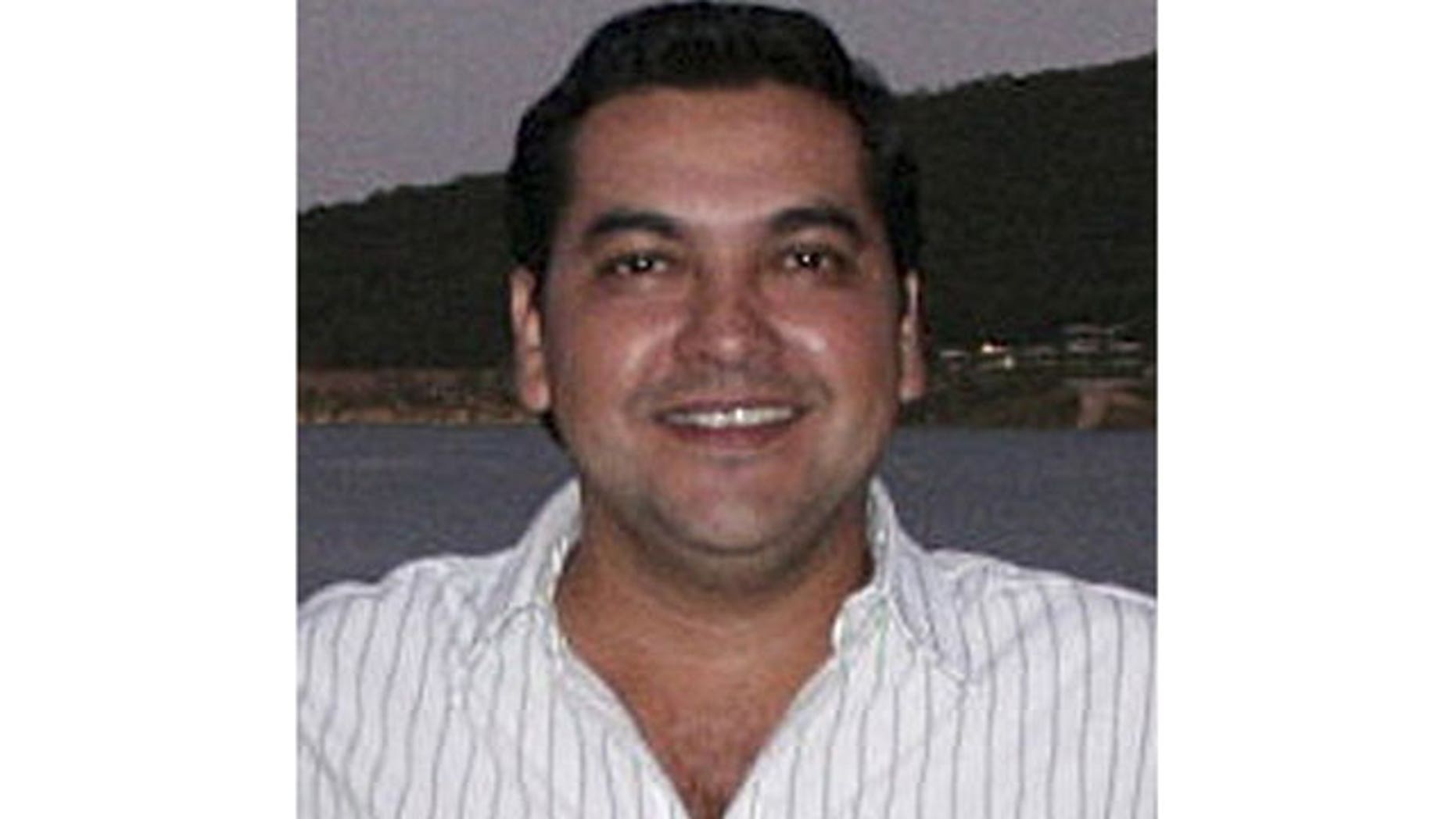 Mayor Marco Antonio Leal from the opposition Institutional Revolutionary party (PRI) is seen in Hidalgo in this October 2009 file photo.