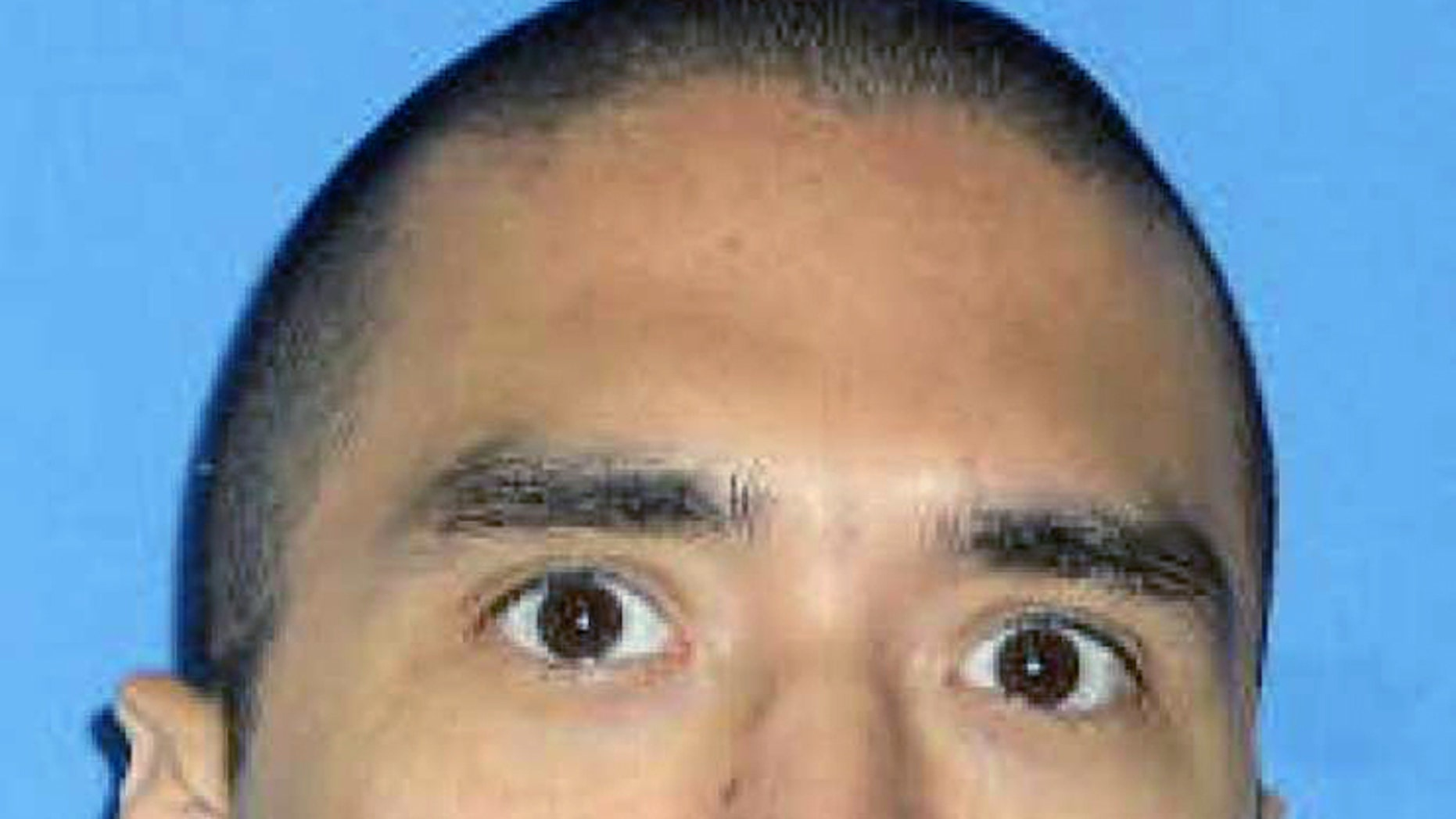 This photo released by the Texas Department of Criminal Justice shows death row inmate Rolando Ruiz. The convicted hit man scheduled to be put to death Wednesday, Aug. 31, 2016 for a murder-for-hire plot that left a woman dead more than 23 years ago has received a reprieve from a state appeals court _ the second he has received within a week of an execution date. (Texas Department of Criminal Justice via AP)