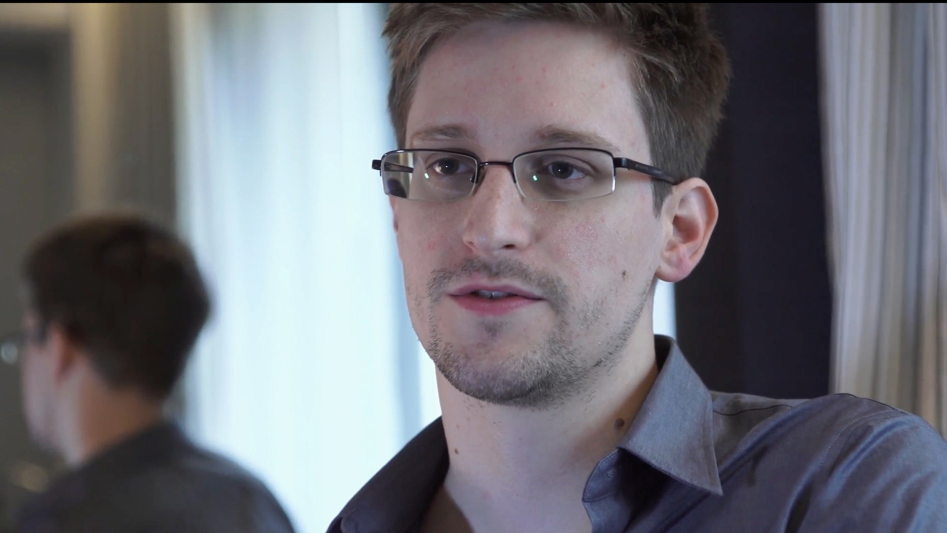 "FILE - This June 9, 2013 file photo provided by The Guardian Newspaper in London shows National Security Agency leaker Edward Snowden, in Hong Kong. Snowden says his ""mission's already accomplished"" after leaking NSA secrets that have caused a reassessment of U.S. surveillance policies. Snowden told The Washington Post in a story published online Monday night, Dec. 23, 2013, he has ""already won"" because journalists have been able to tell the story of the government's collection of bulk Internet and phone records. (AP Photo/The Guardian, Glenn Greenwald and Laura Poitras, File)"