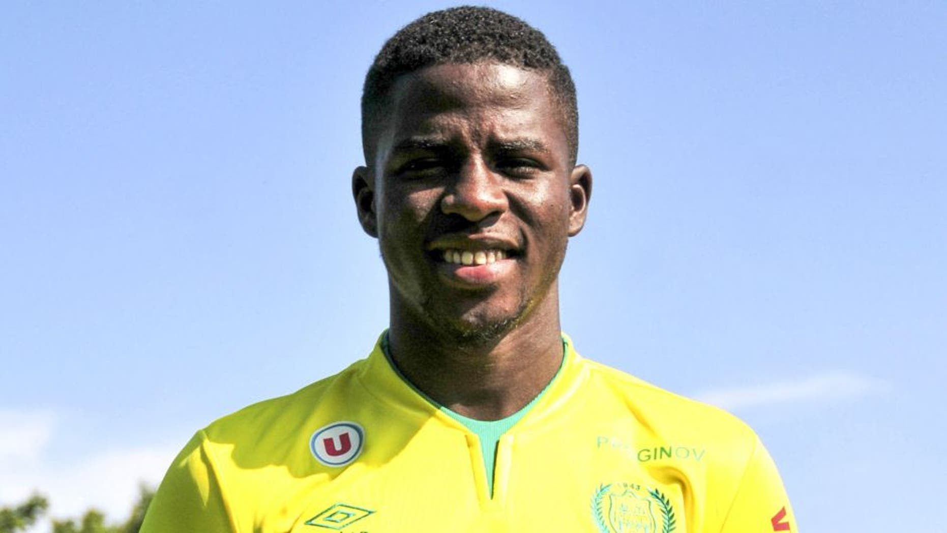 Papy Mison DJILOBODJI - 15.09.2014 - Photo officielle Nantes - Ligue 1 2014/2015 Photo : Philippe Le Brech / Icon Sport/MB Media