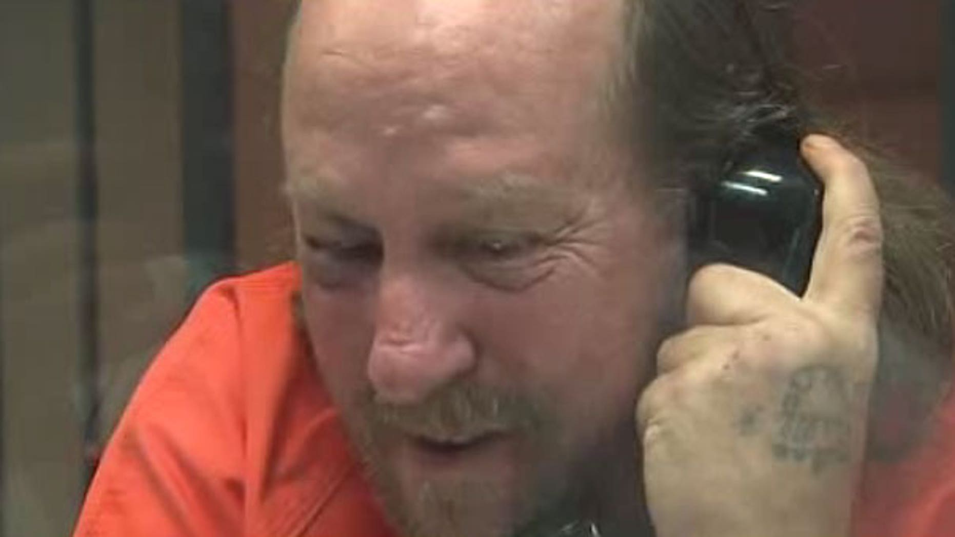 David Snek speaks to a Fox40 reporter from jail.
