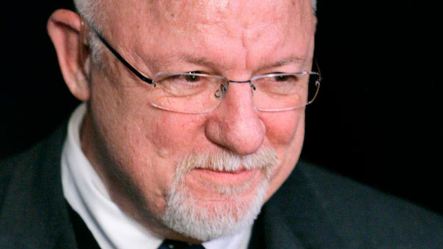 In this Jan. 3, 2008, file photo Ed Rollins, is interviewed in Des Moines, Iowa.