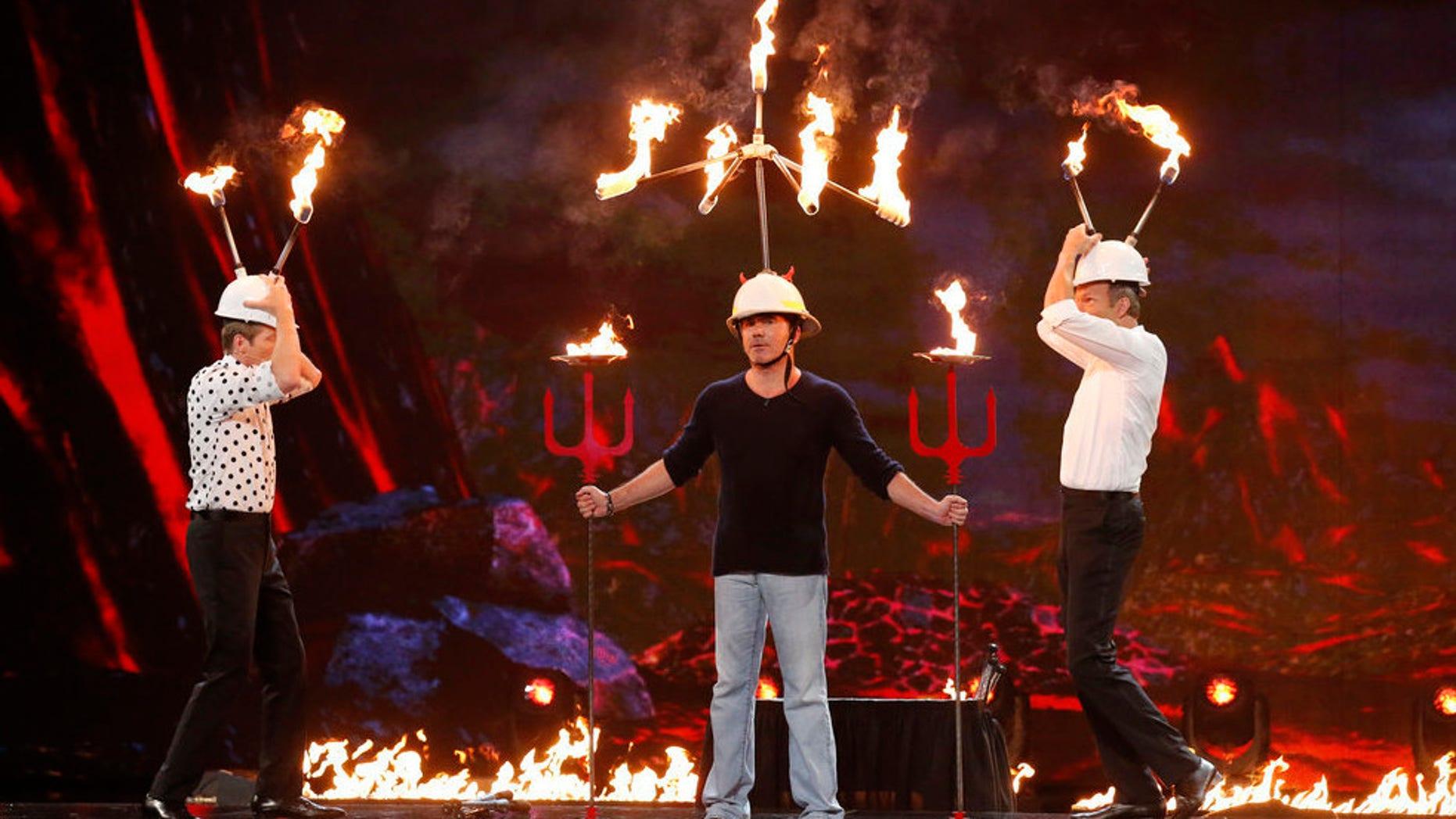Simon Cowell risks it all on 'America's Got Talent.'
